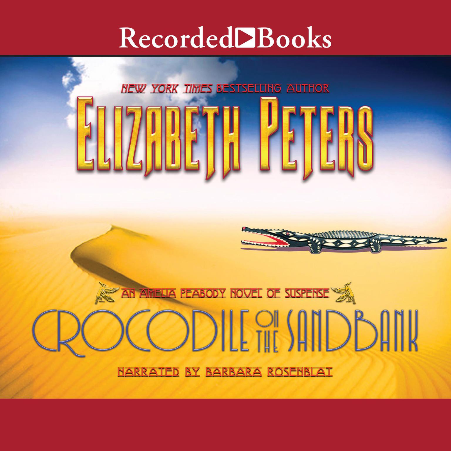 Printable Crocodile on the Sandbank Audiobook Cover Art