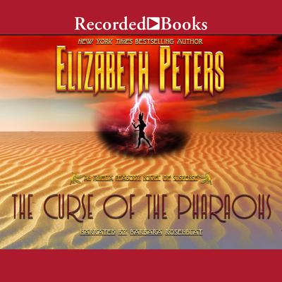 The Curse of the Pharaohs Audiobook, by Elizabeth Peters
