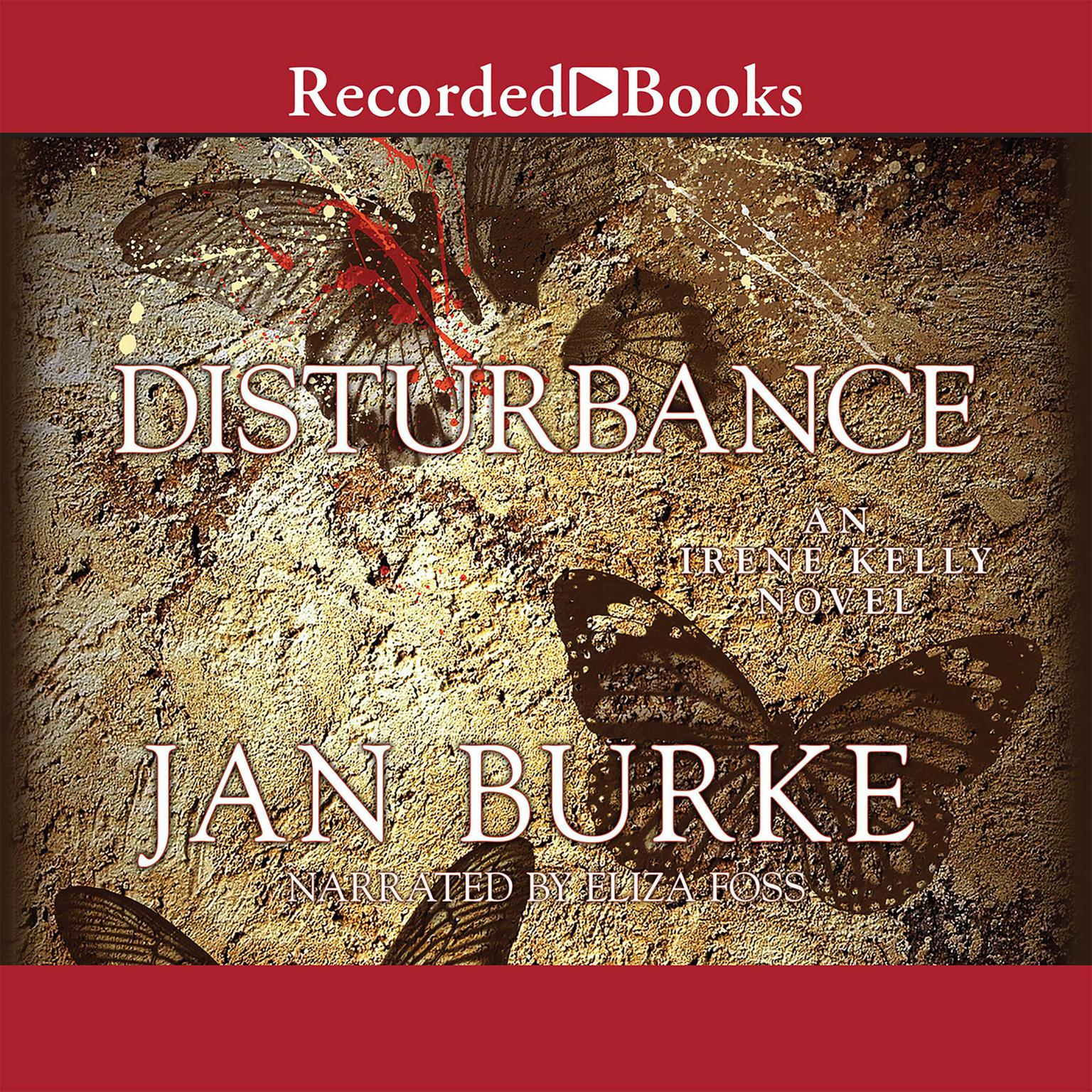 Printable Disturbance Audiobook Cover Art