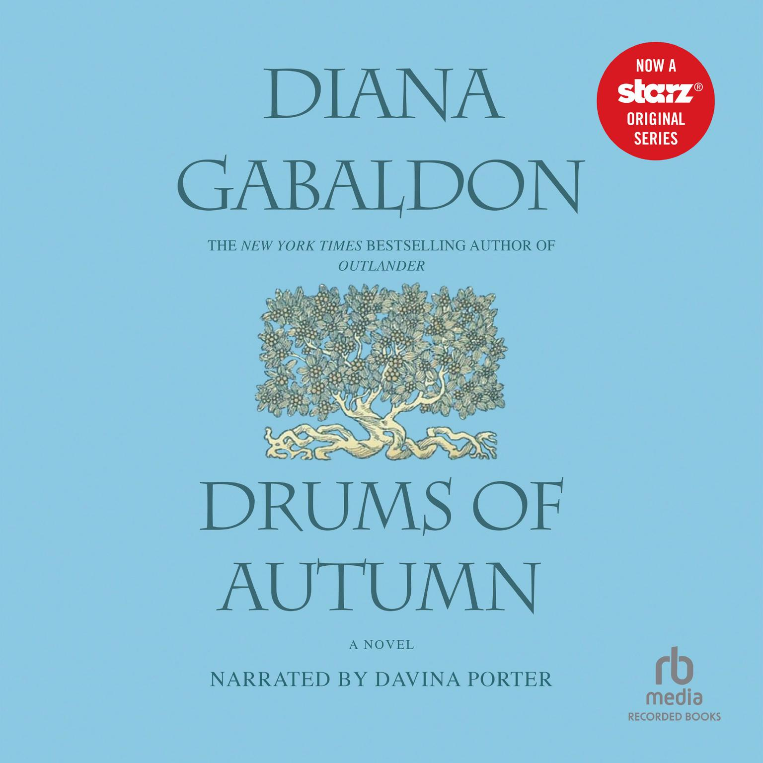 Printable Drums of Autumn Audiobook Cover Art