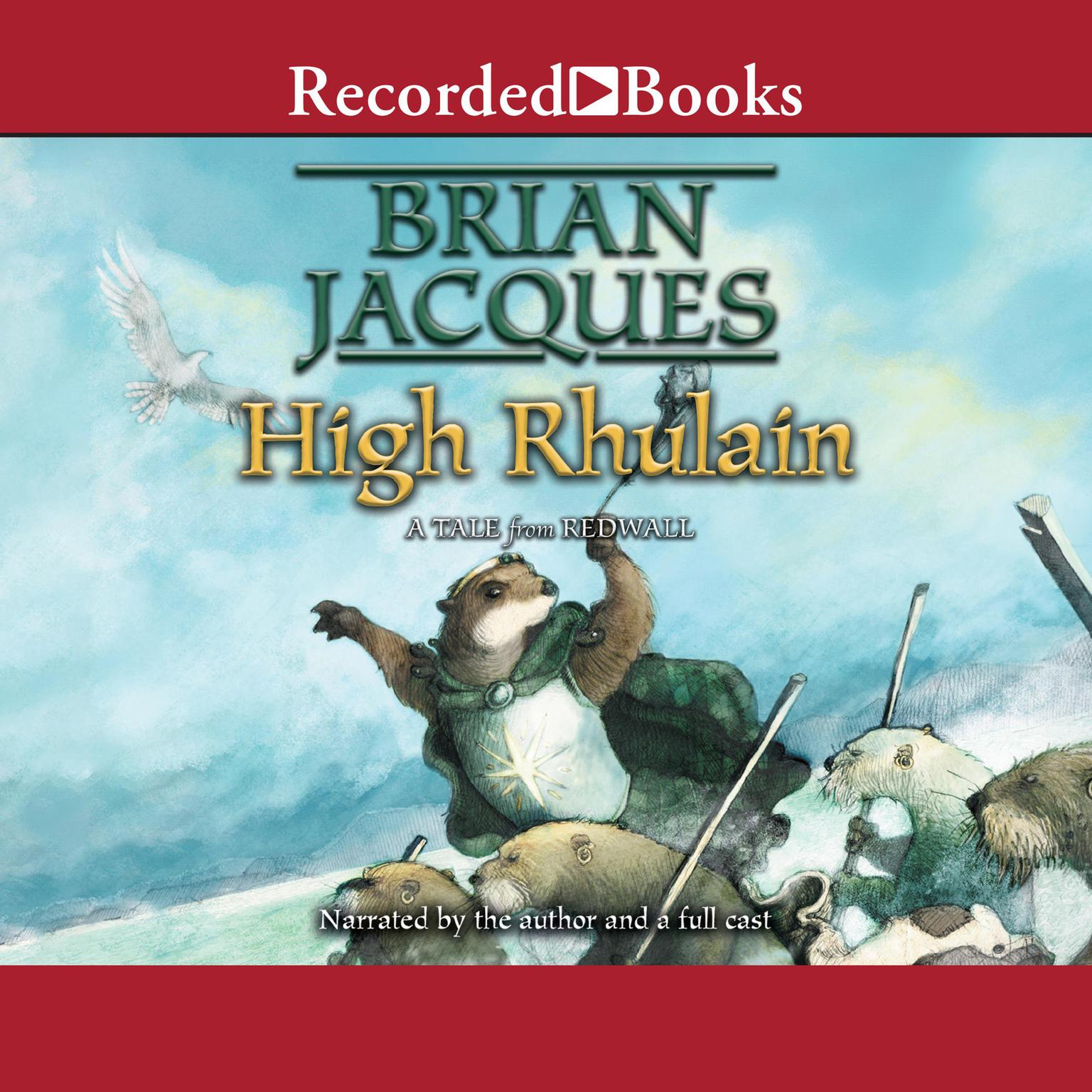 Printable High Rhulain: Redwall, Book 21 Audiobook Cover Art