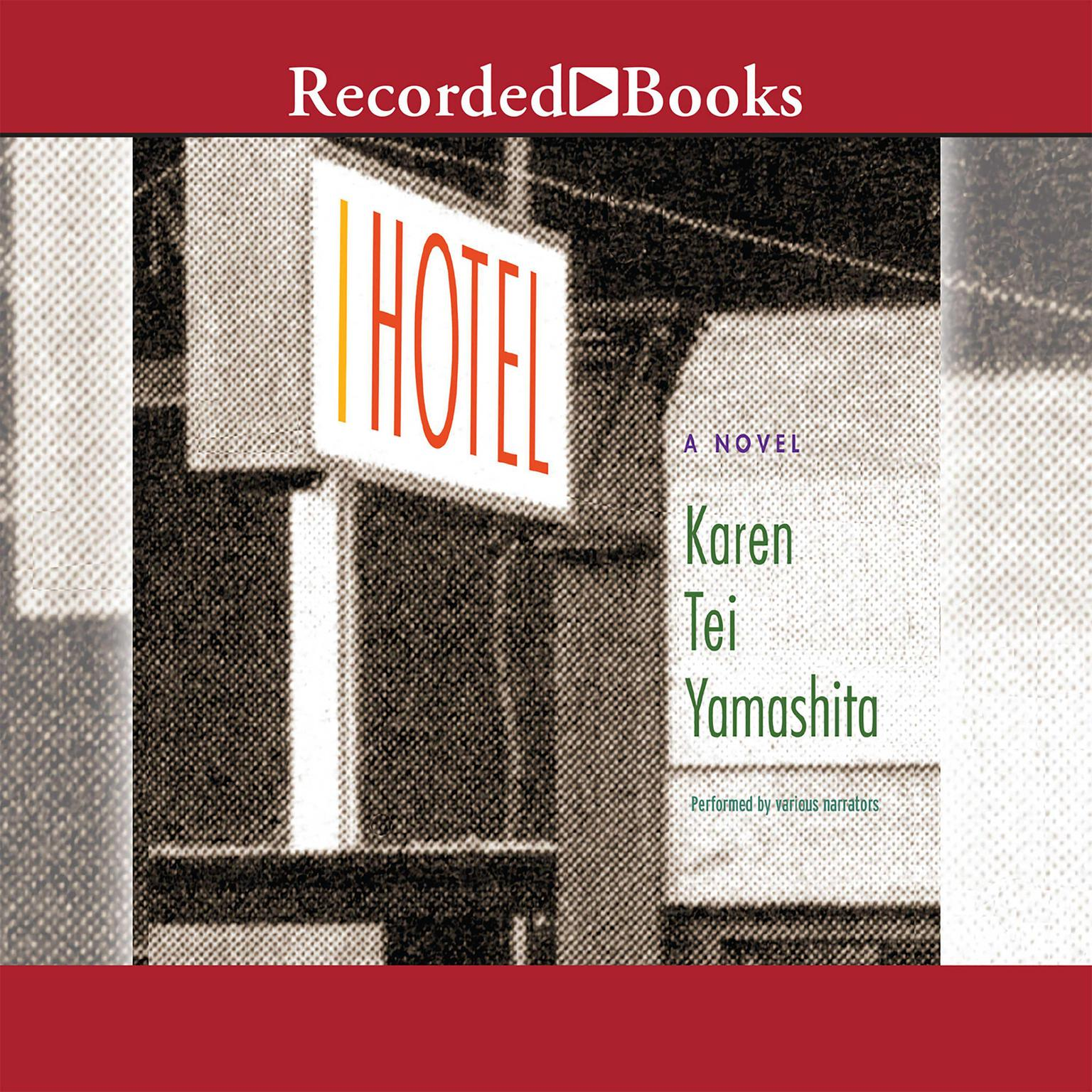 Printable I Hotel Audiobook Cover Art