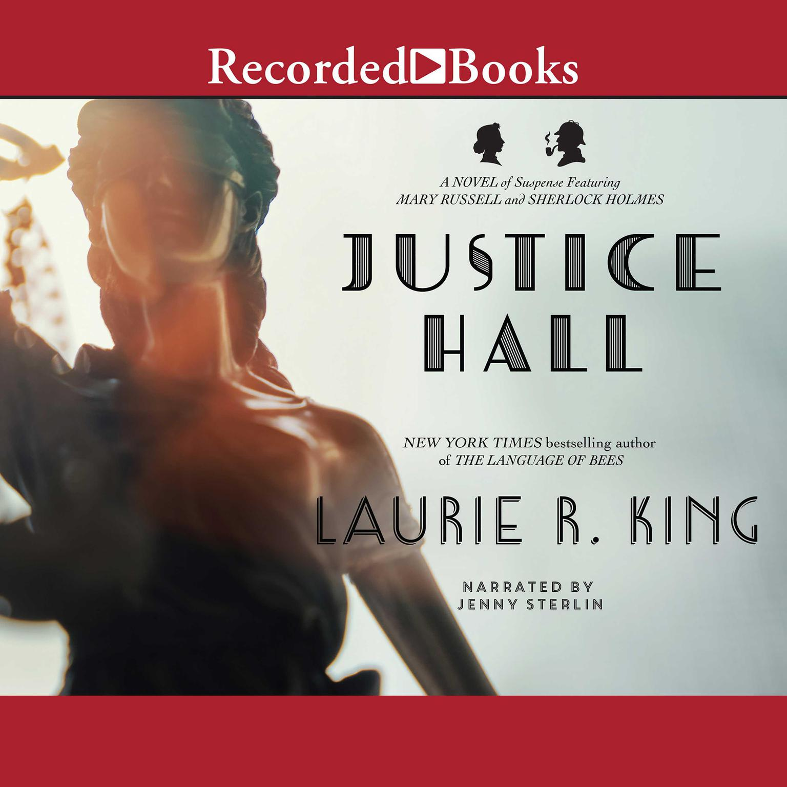 Printable Justice Hall Audiobook Cover Art