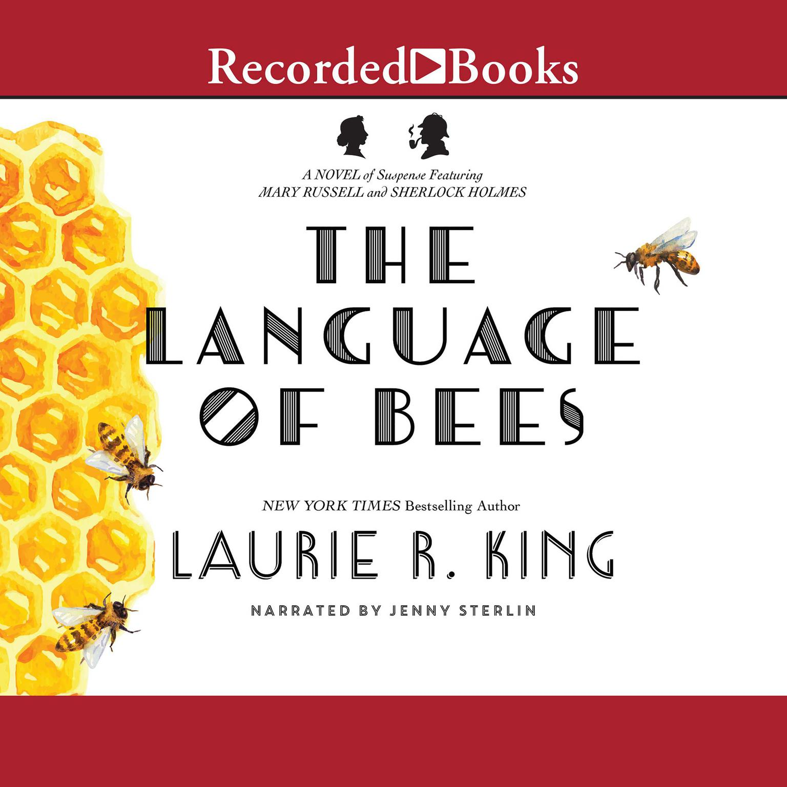 Printable The Language of Bees Audiobook Cover Art