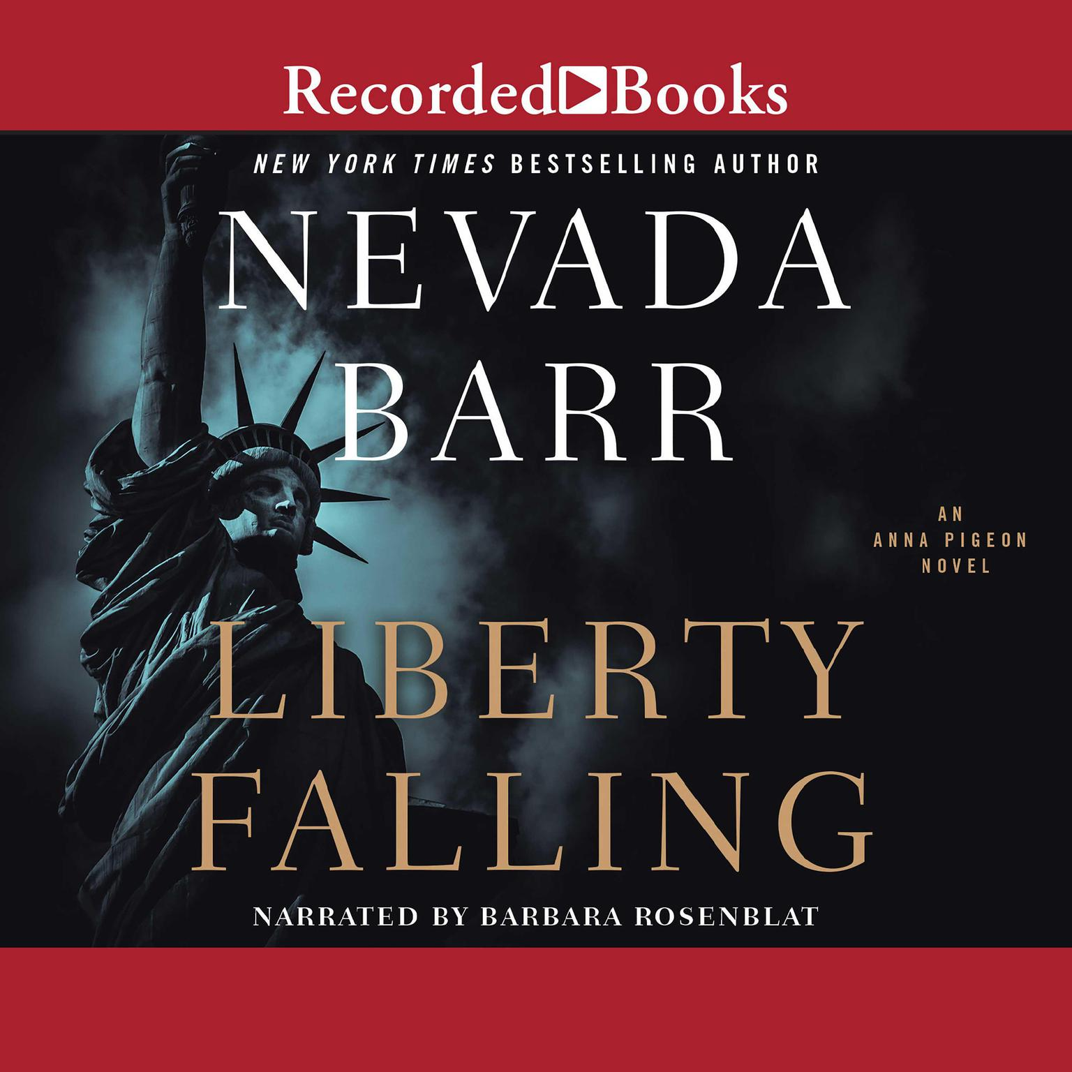 Printable Liberty Falling Audiobook Cover Art
