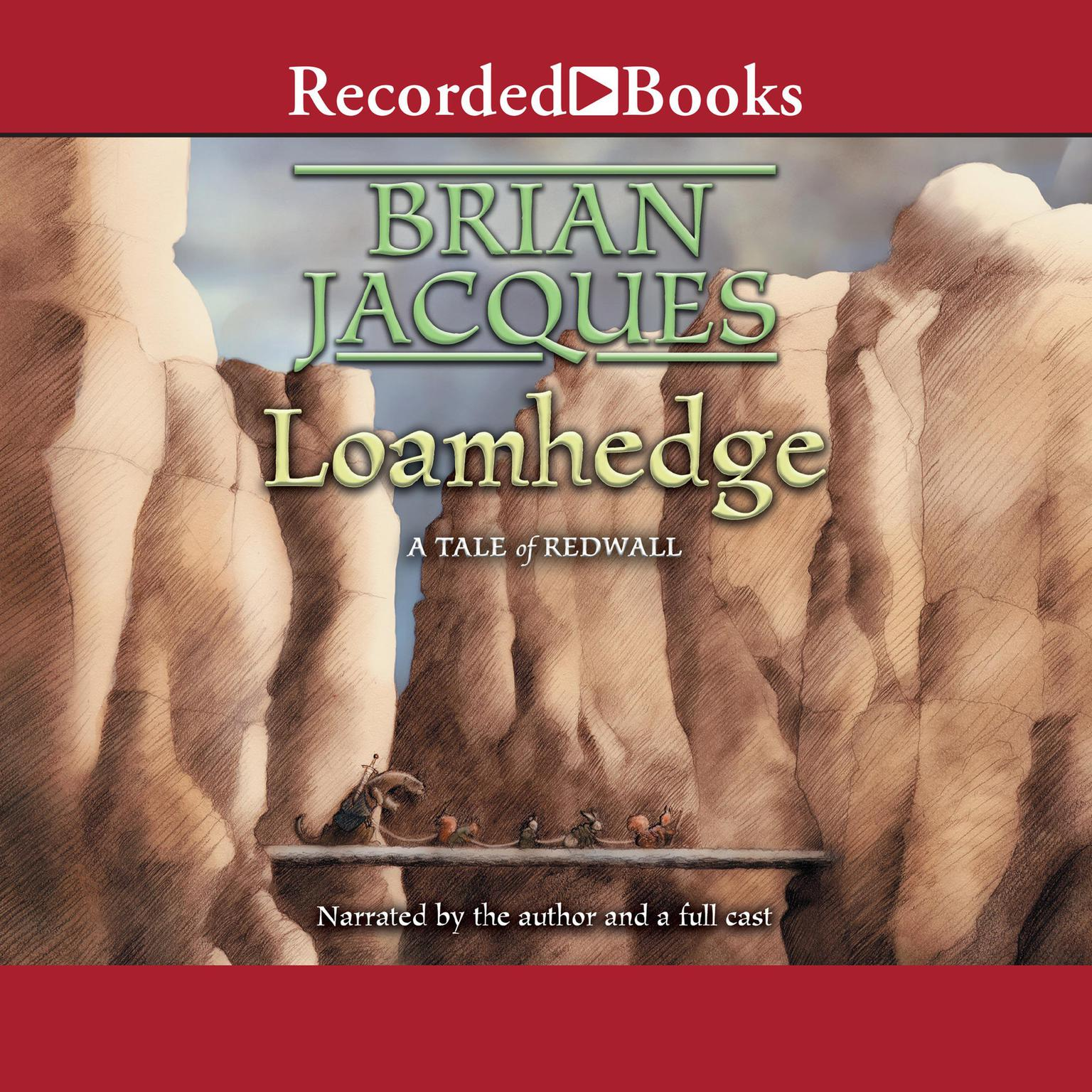 Printable Loamhedge Audiobook Cover Art