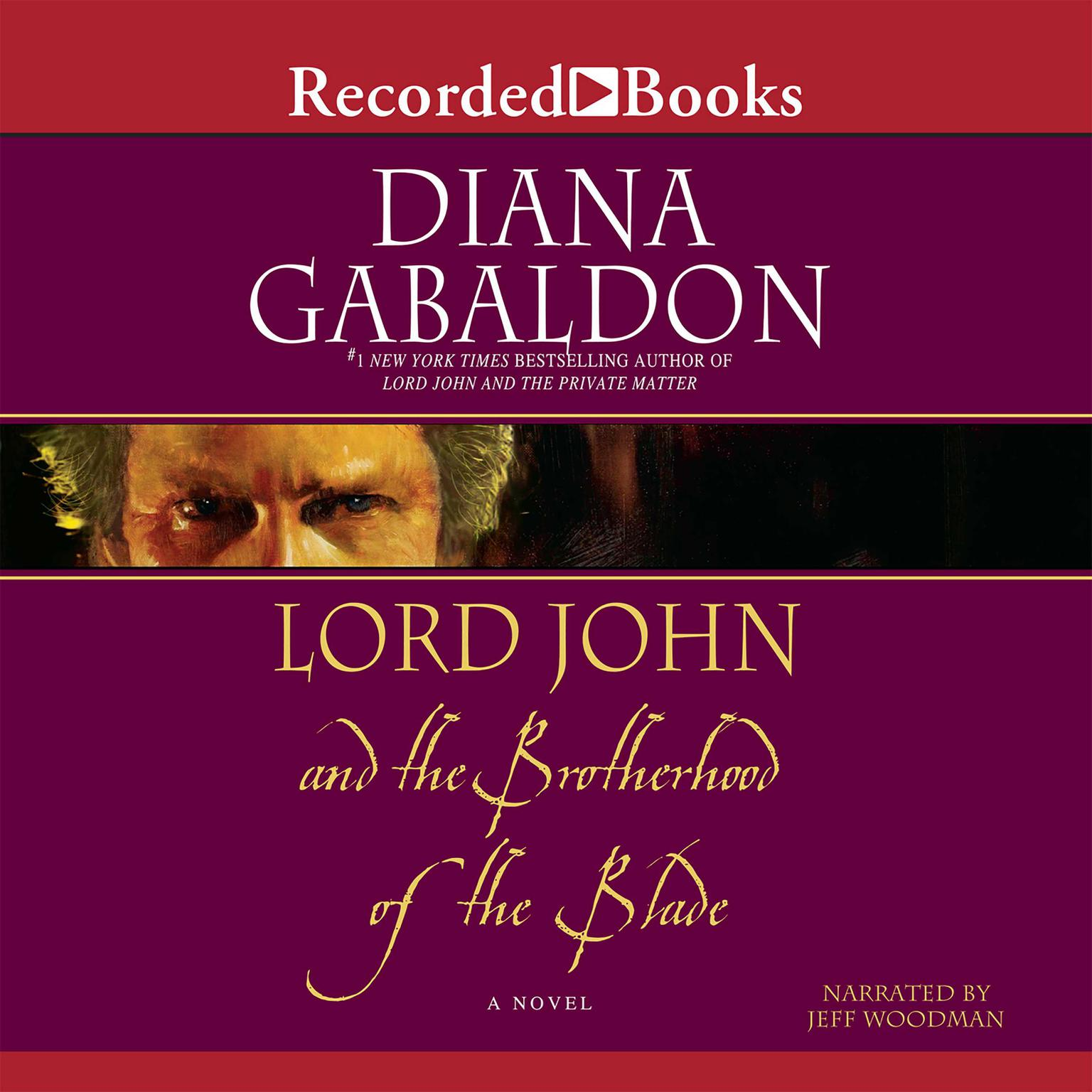 Printable Lord John and the Brotherhood of the Blade Audiobook Cover Art