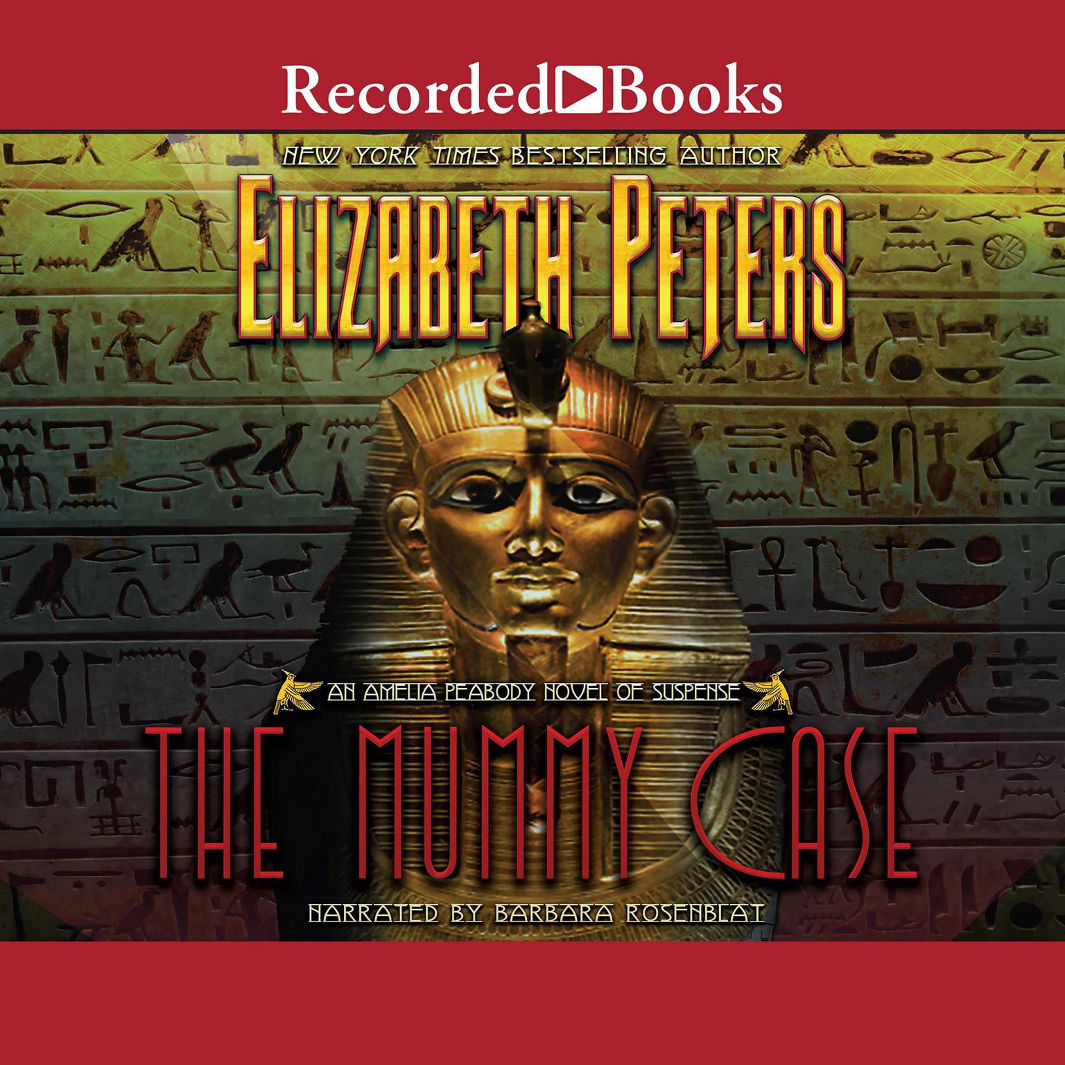 Printable The Mummy Case Audiobook Cover Art