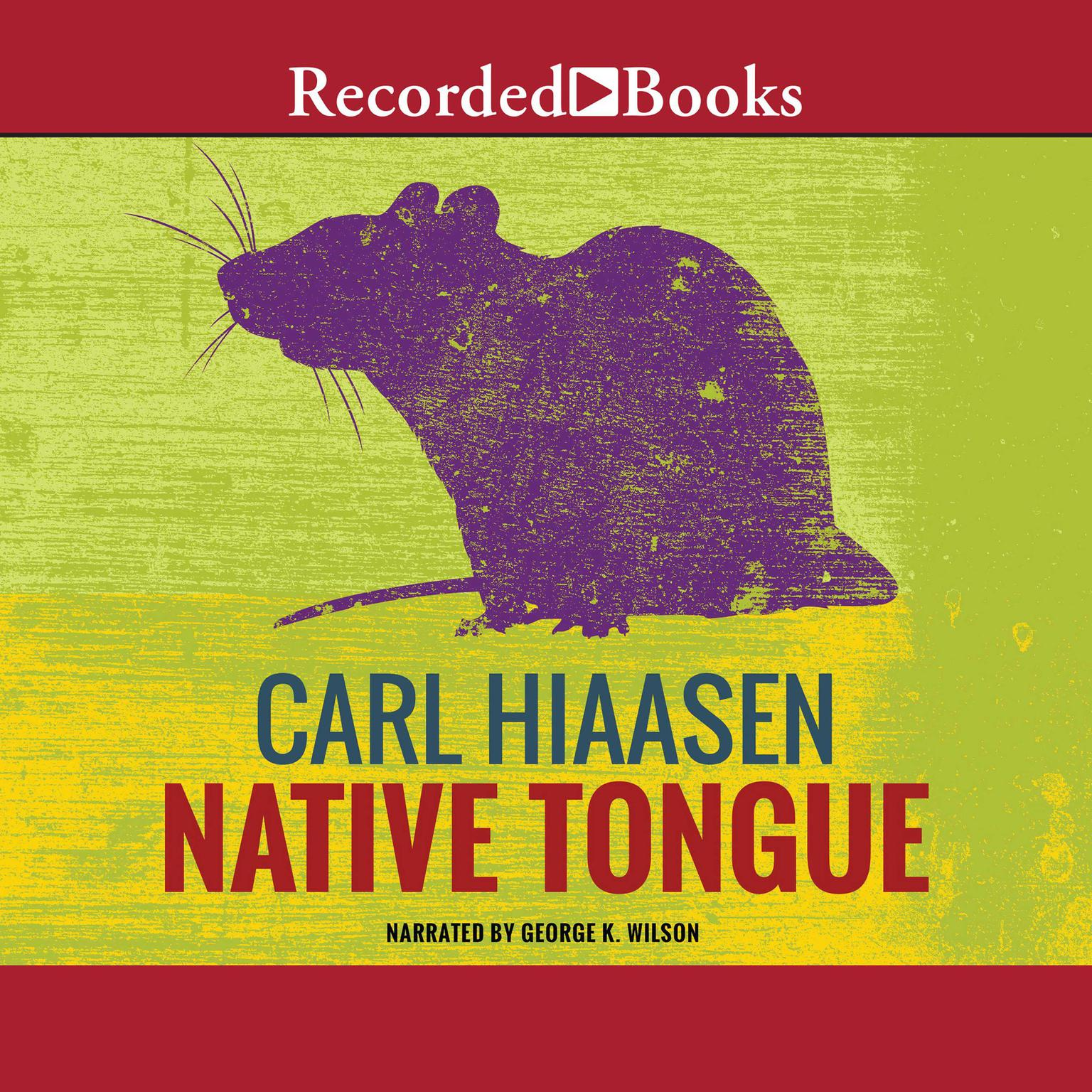 Printable Native Tongue Audiobook Cover Art