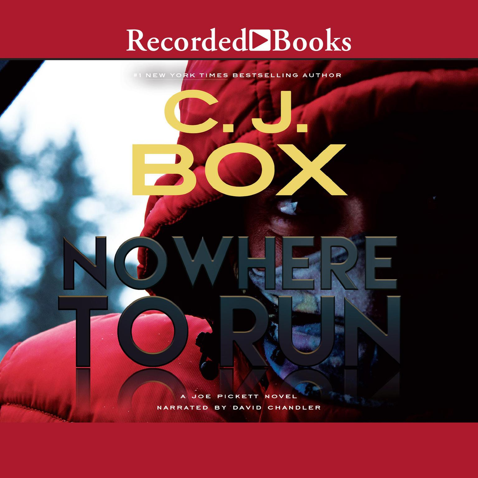 Printable Nowhere to Run Audiobook Cover Art