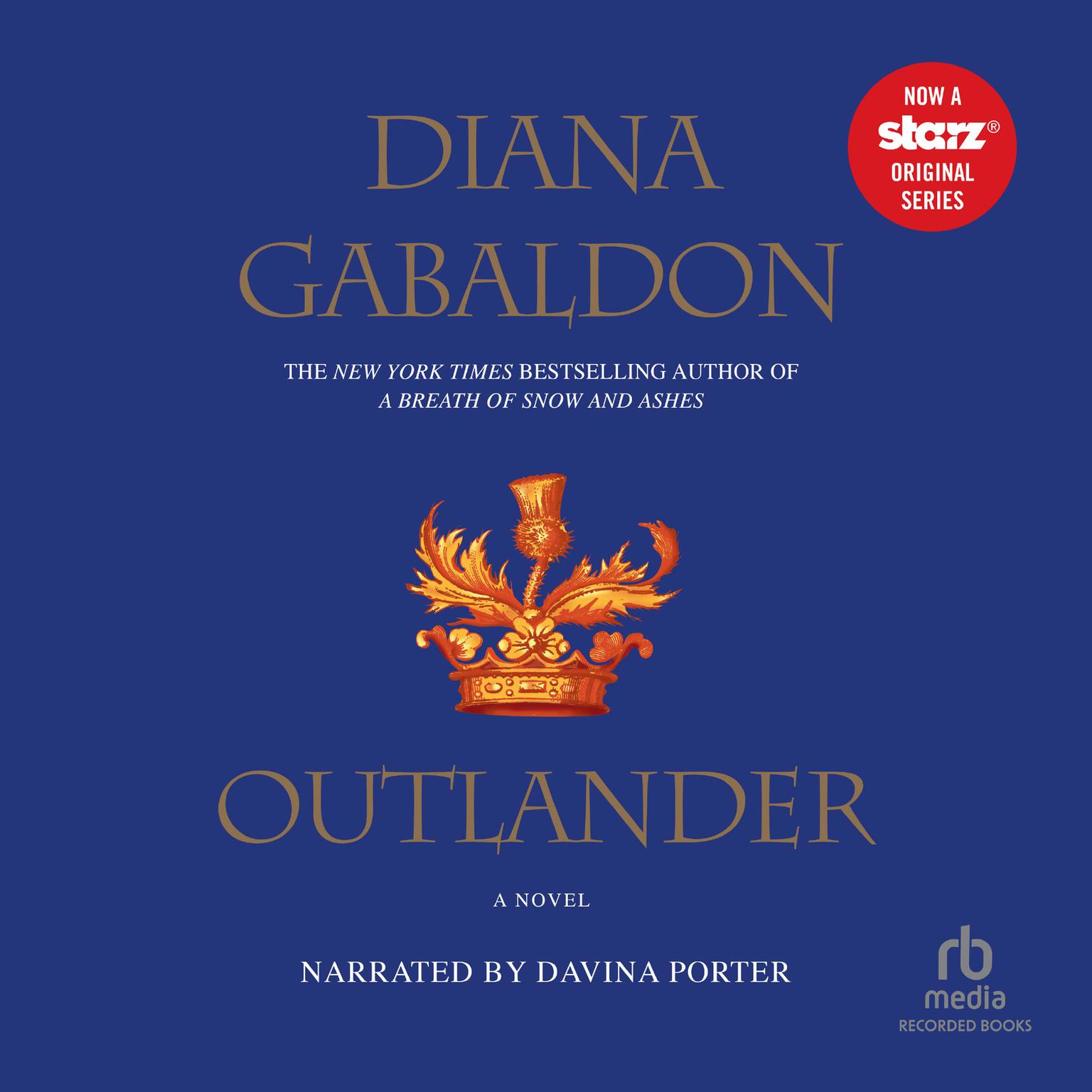 Printable Outlander Audiobook Cover Art