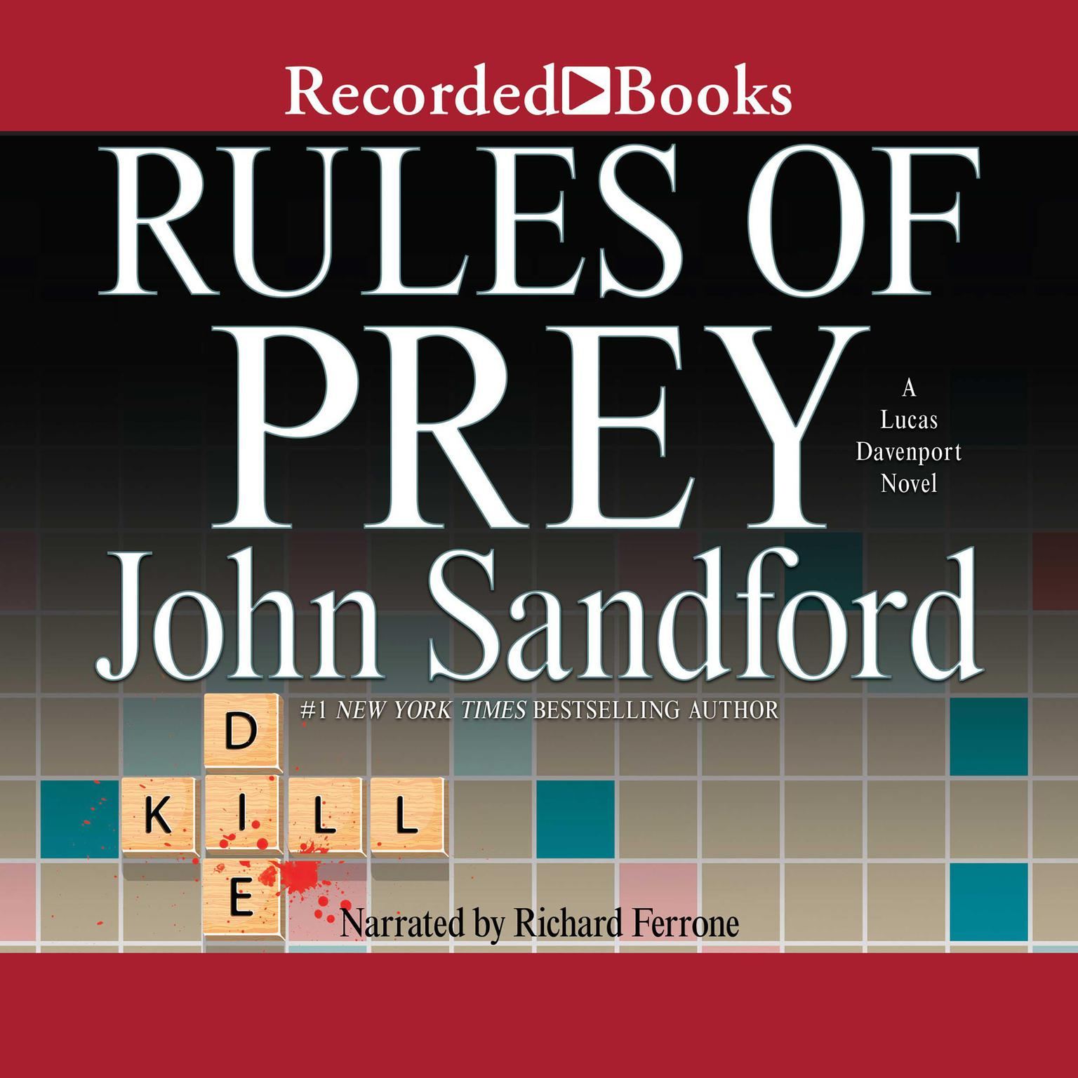 Printable Rules of Prey Audiobook Cover Art