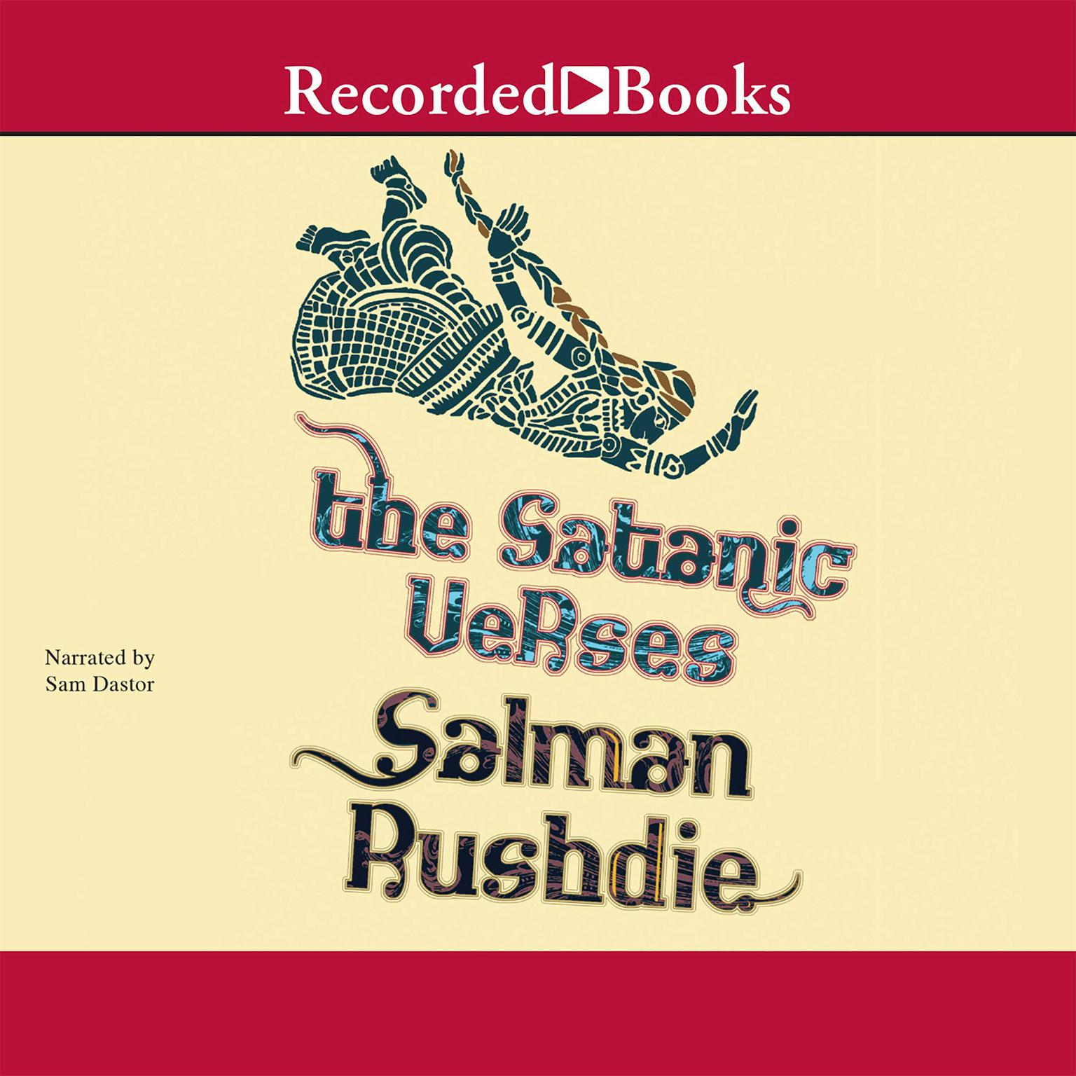 Printable The Satanic Verses Audiobook Cover Art
