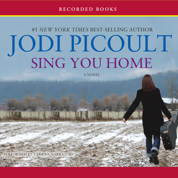 Printable Sing You Home Audiobook Cover Art