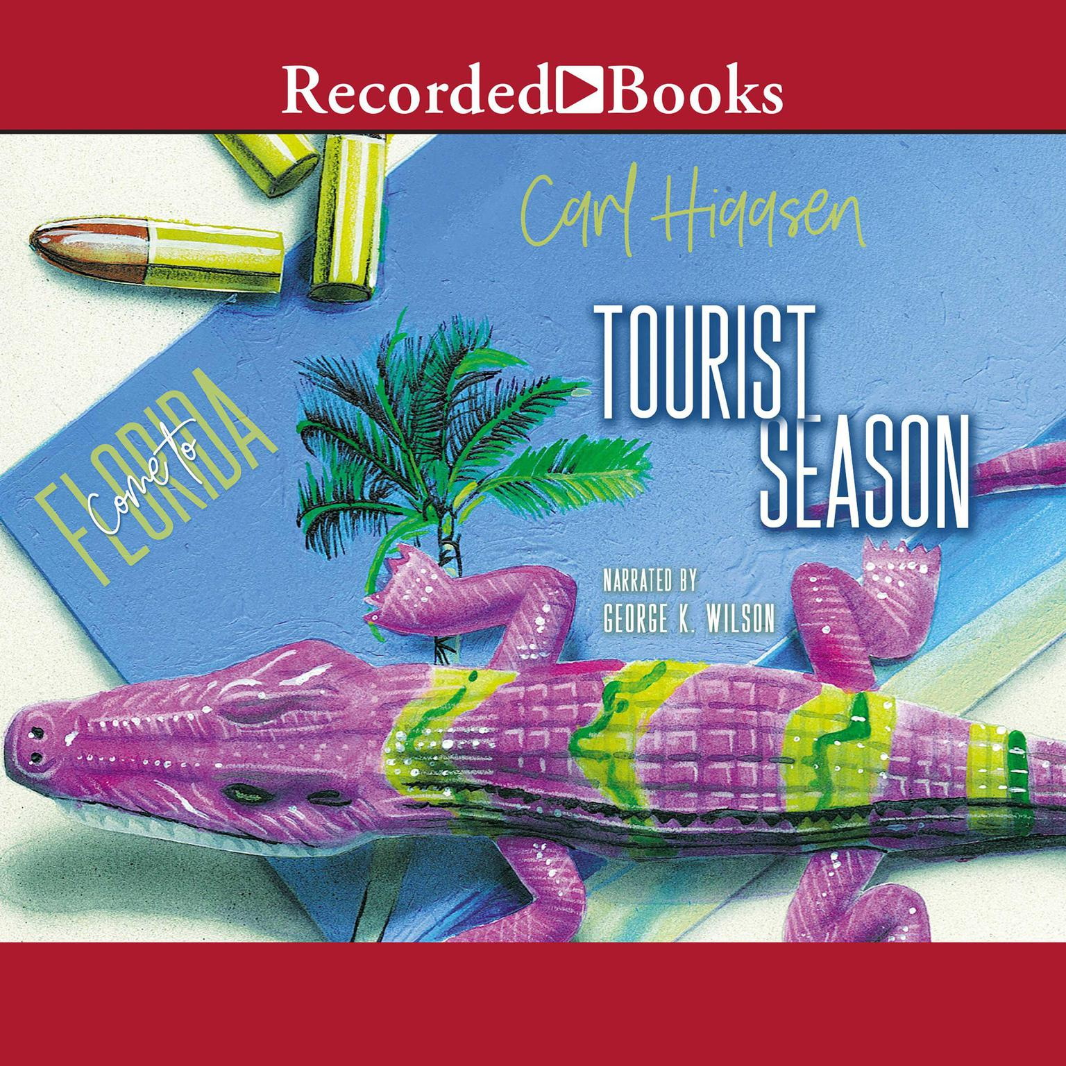 Printable Tourist Season Audiobook Cover Art
