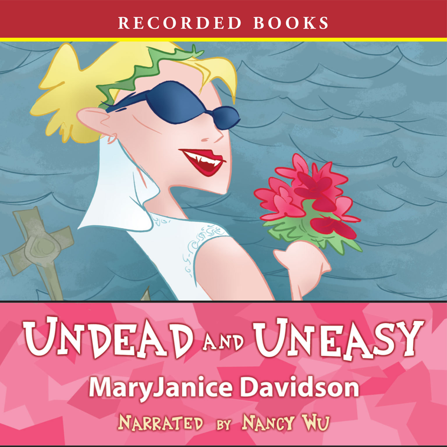 Printable Undead and Uneasy Audiobook Cover Art