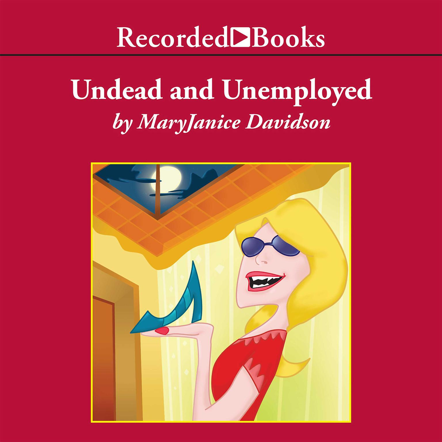 Printable Undead and Unemployed Audiobook Cover Art