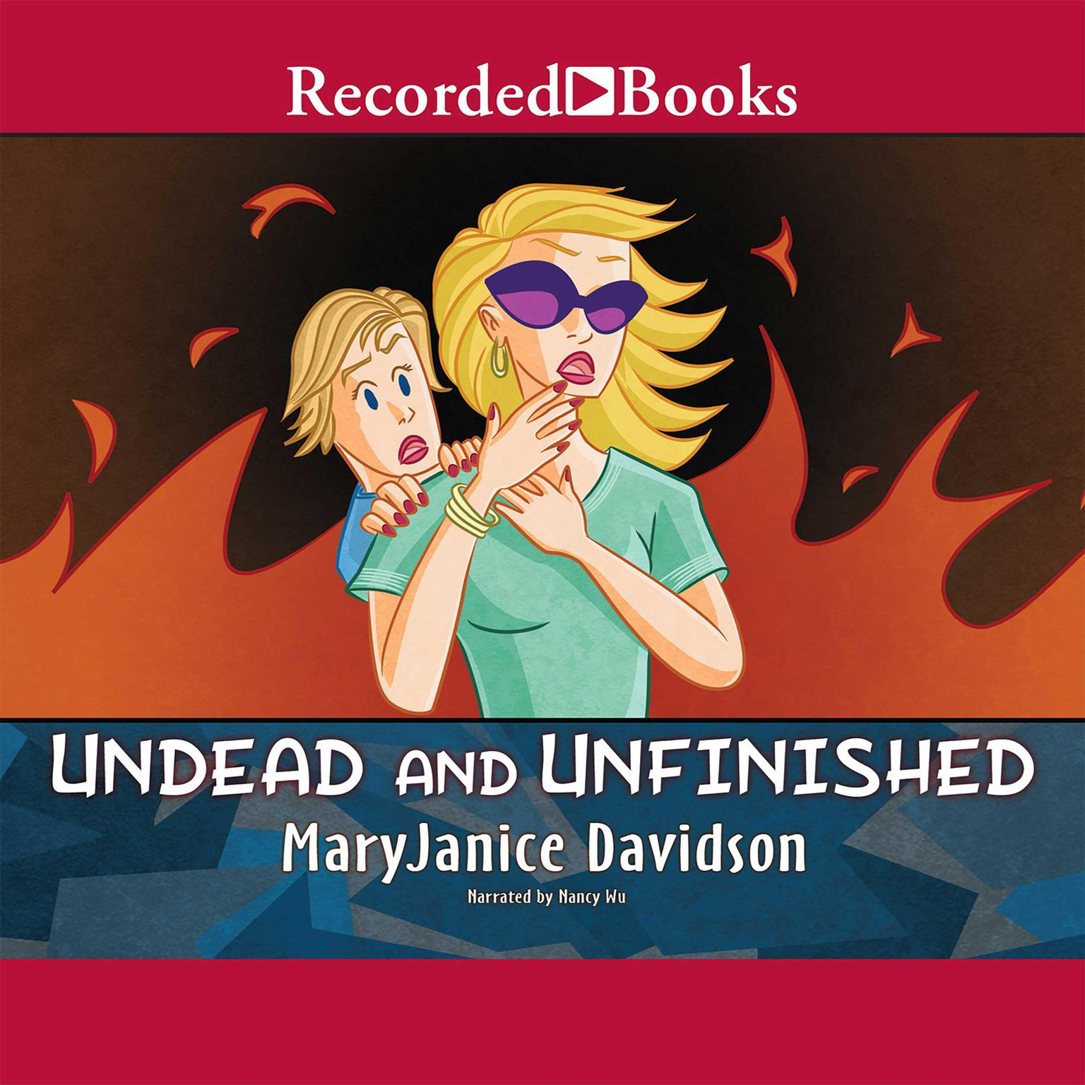 Printable Undead and Unfinished Audiobook Cover Art
