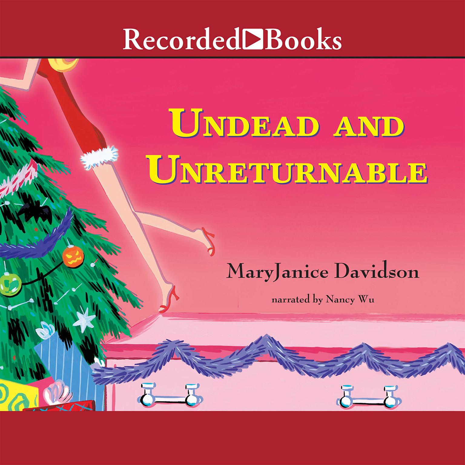 Printable Undead and Unreturnable Audiobook Cover Art