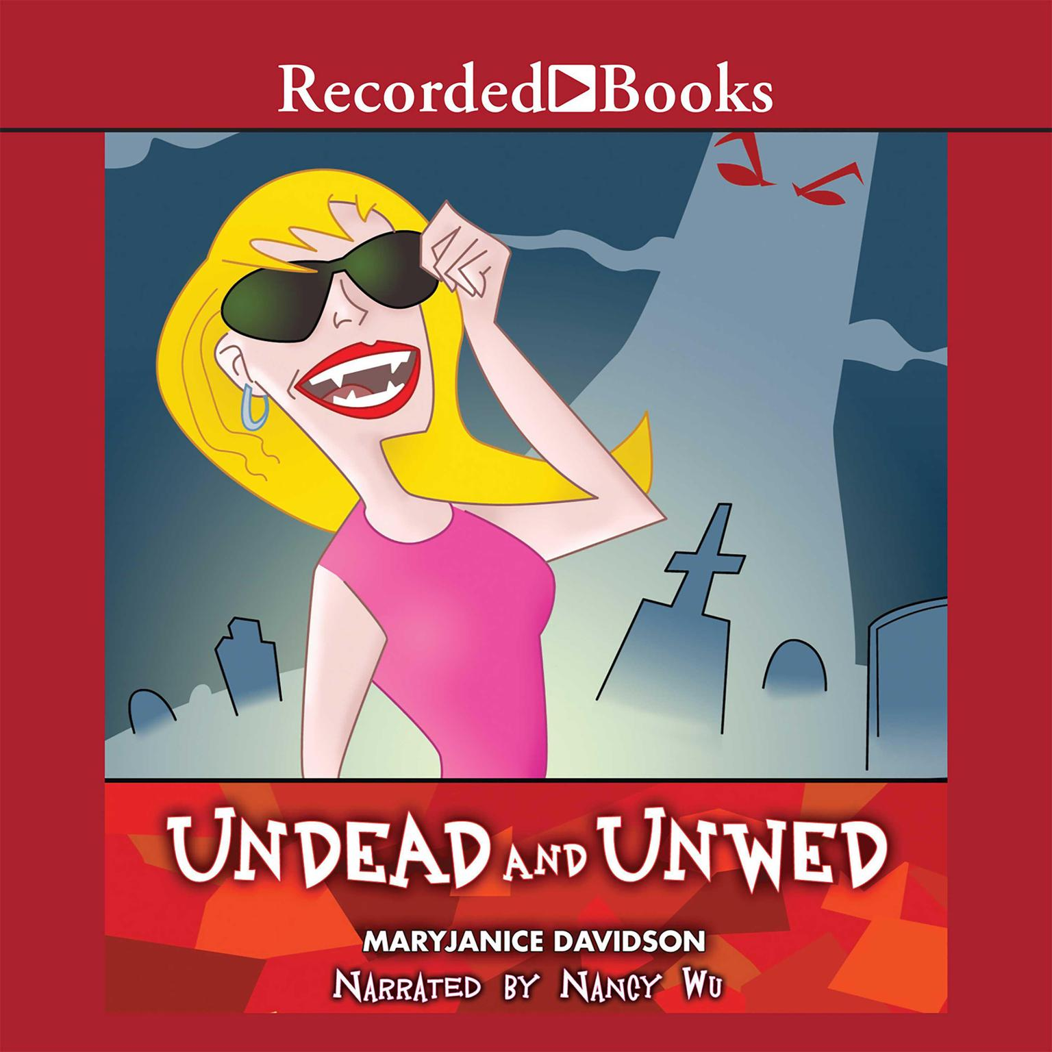 Printable Undead and Unwed Audiobook Cover Art