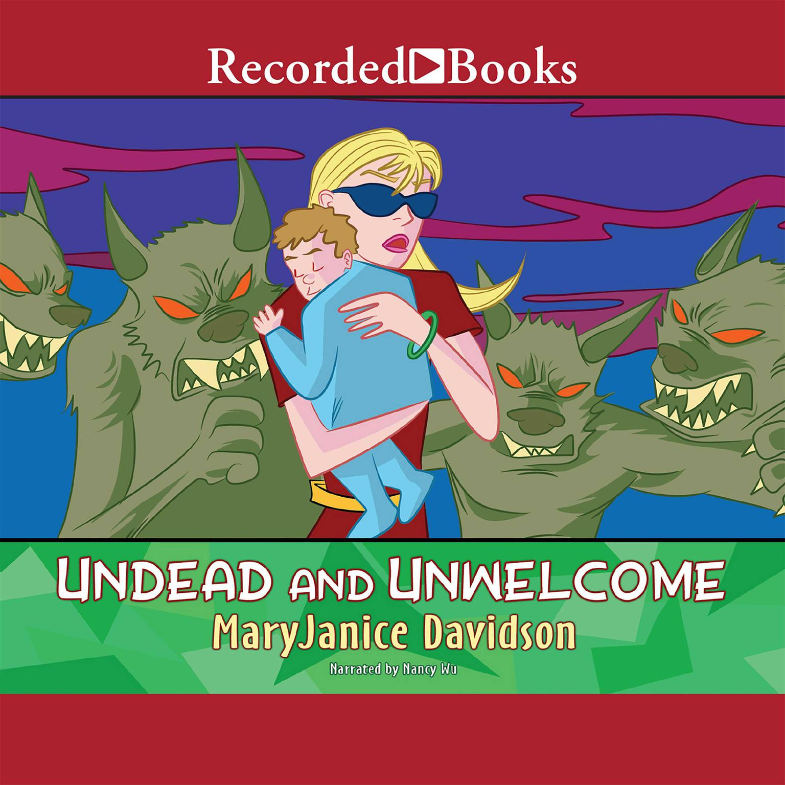 Printable Undead and Unwelcome Audiobook Cover Art