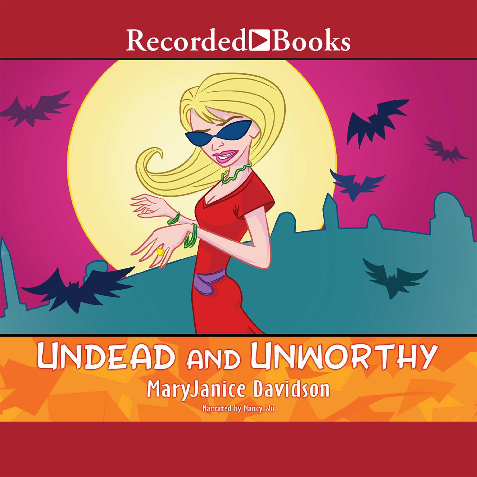 Printable Undead and Unworthy Audiobook Cover Art