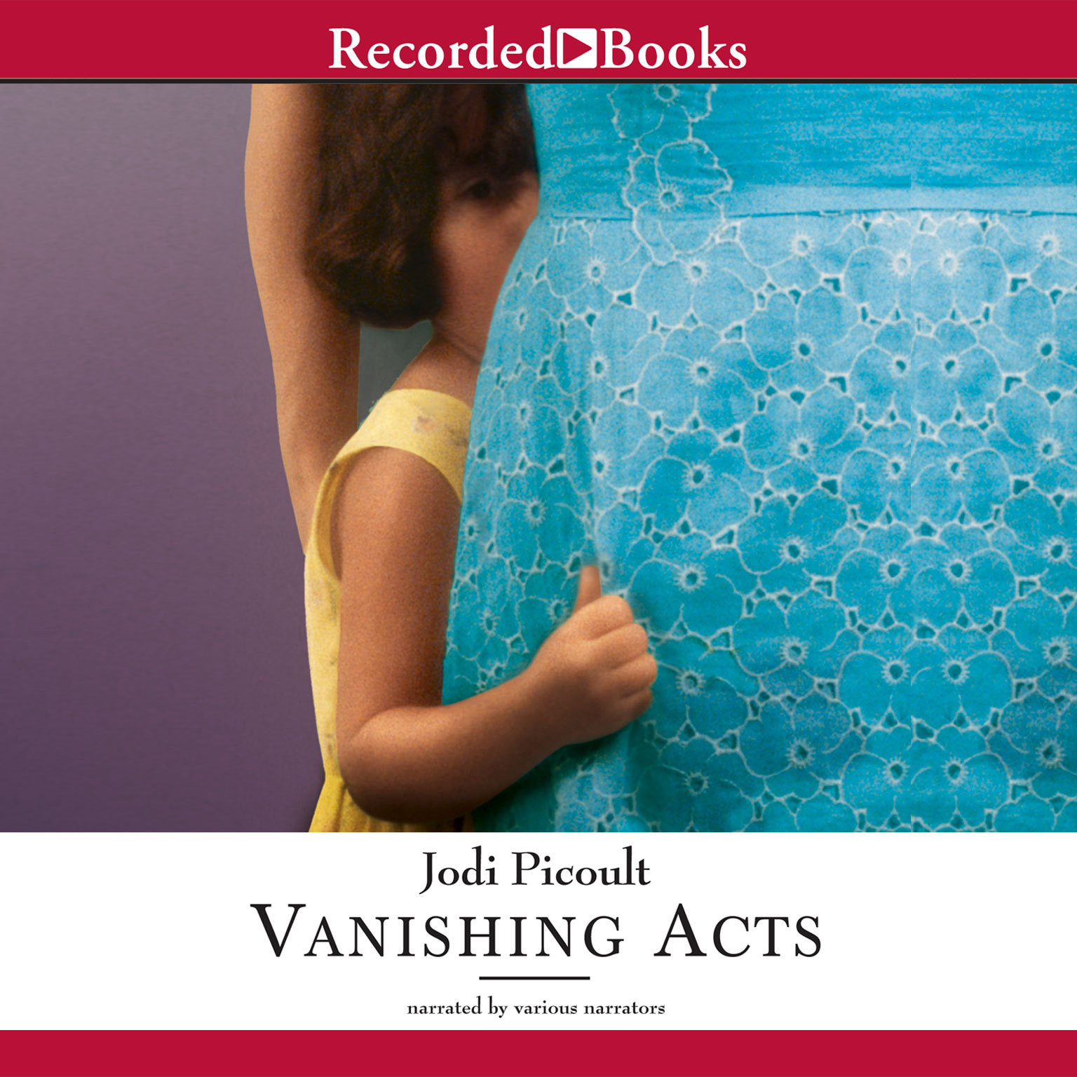 Printable Vanishing Acts Audiobook Cover Art