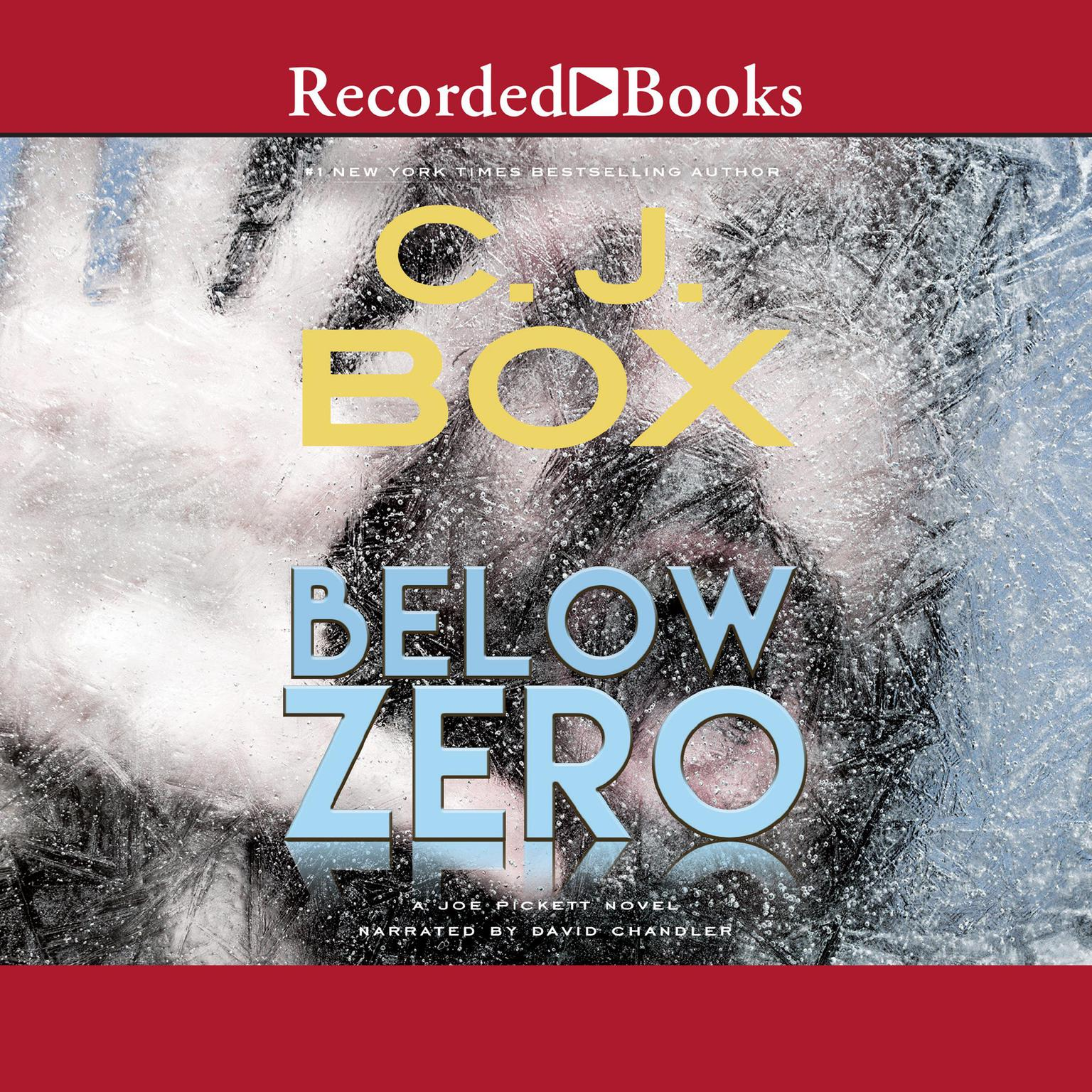 Printable Below Zero Audiobook Cover Art