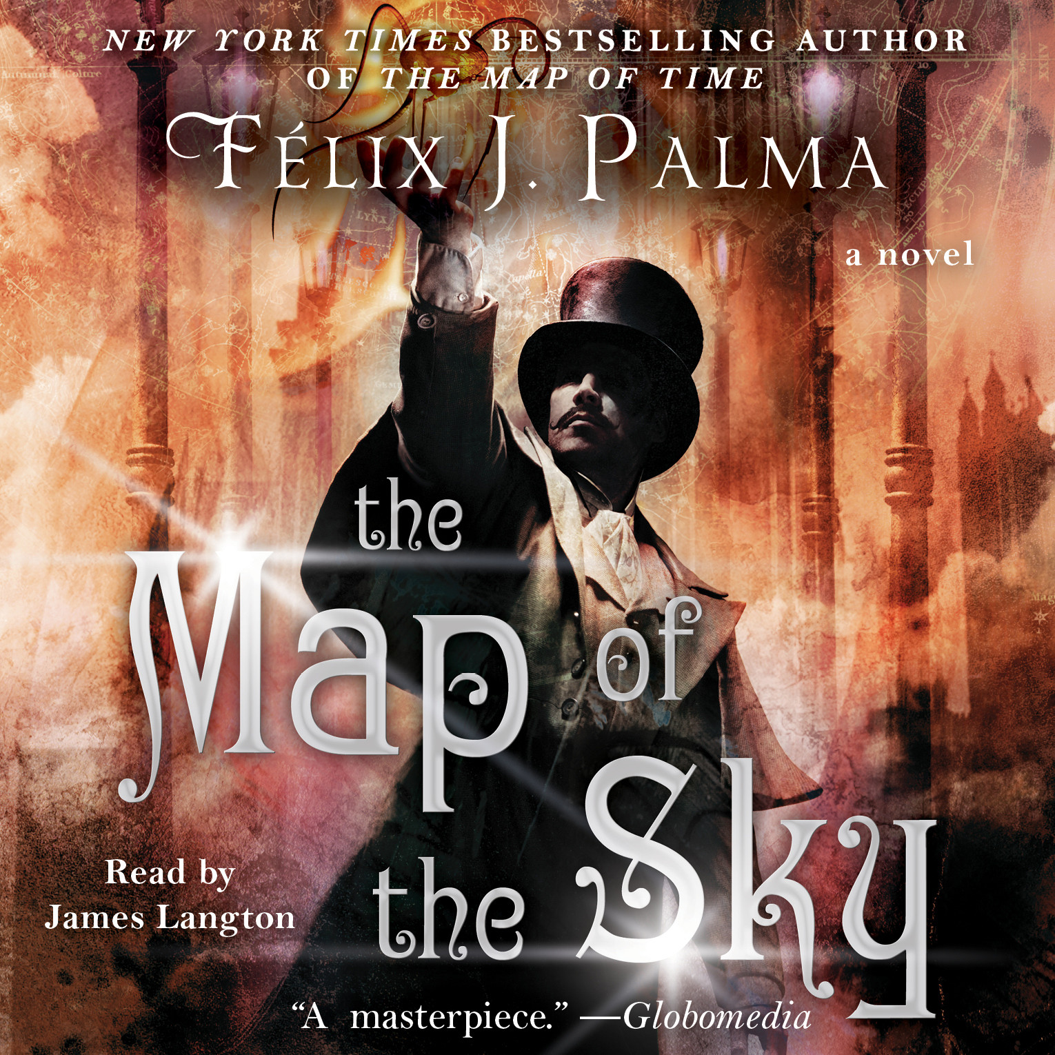 Printable The Map of the Sky: A Novel Audiobook Cover Art