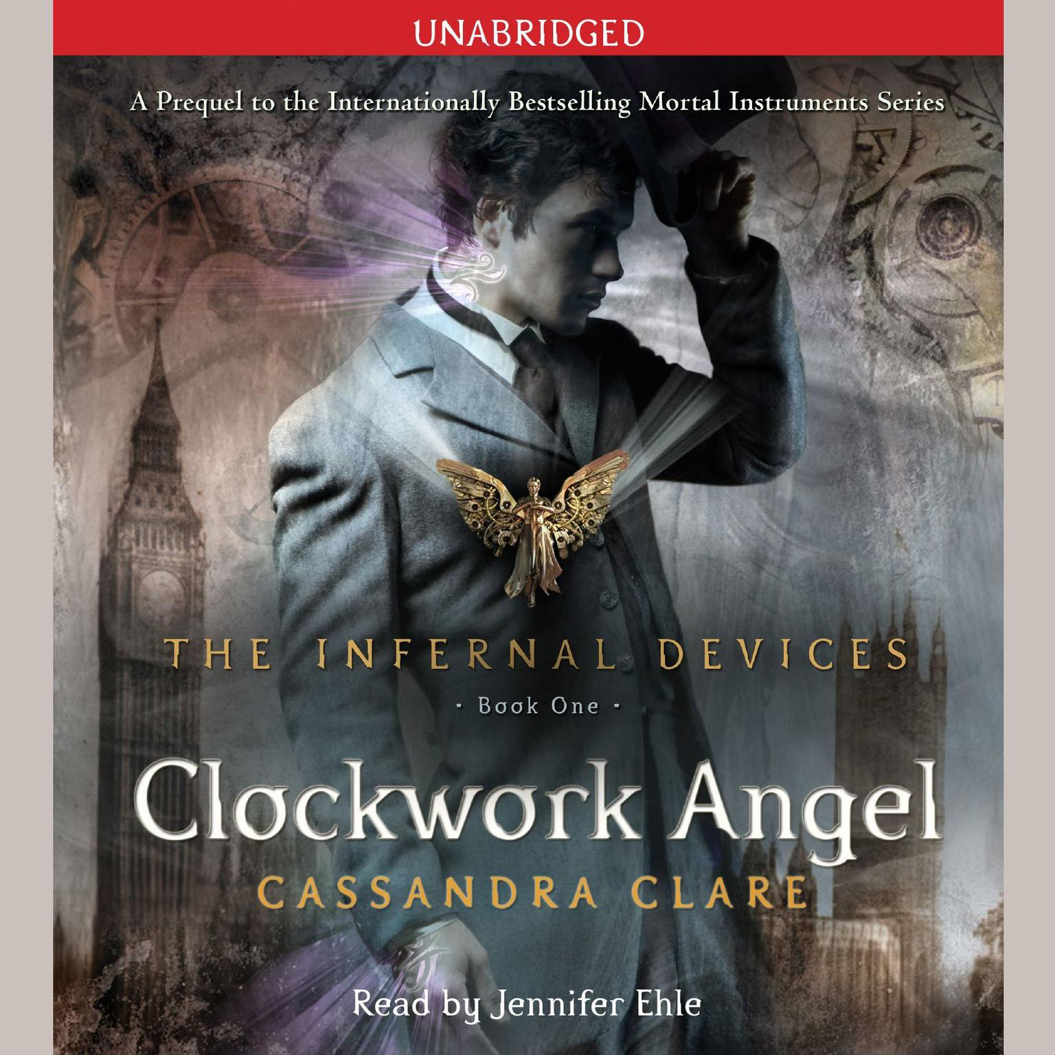 Printable Clockwork Angel Audiobook Cover Art