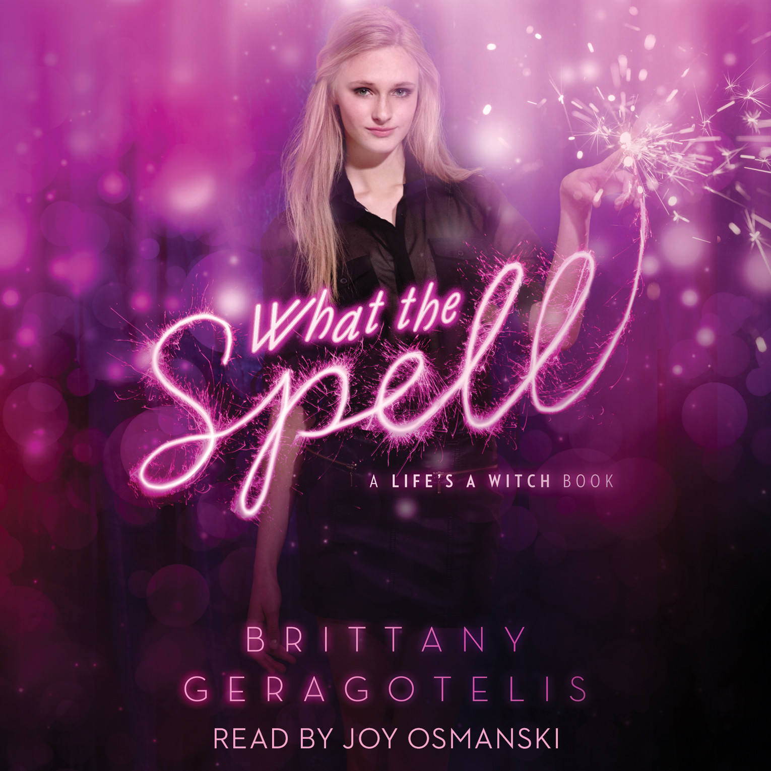 Printable What the Spell Audiobook Cover Art