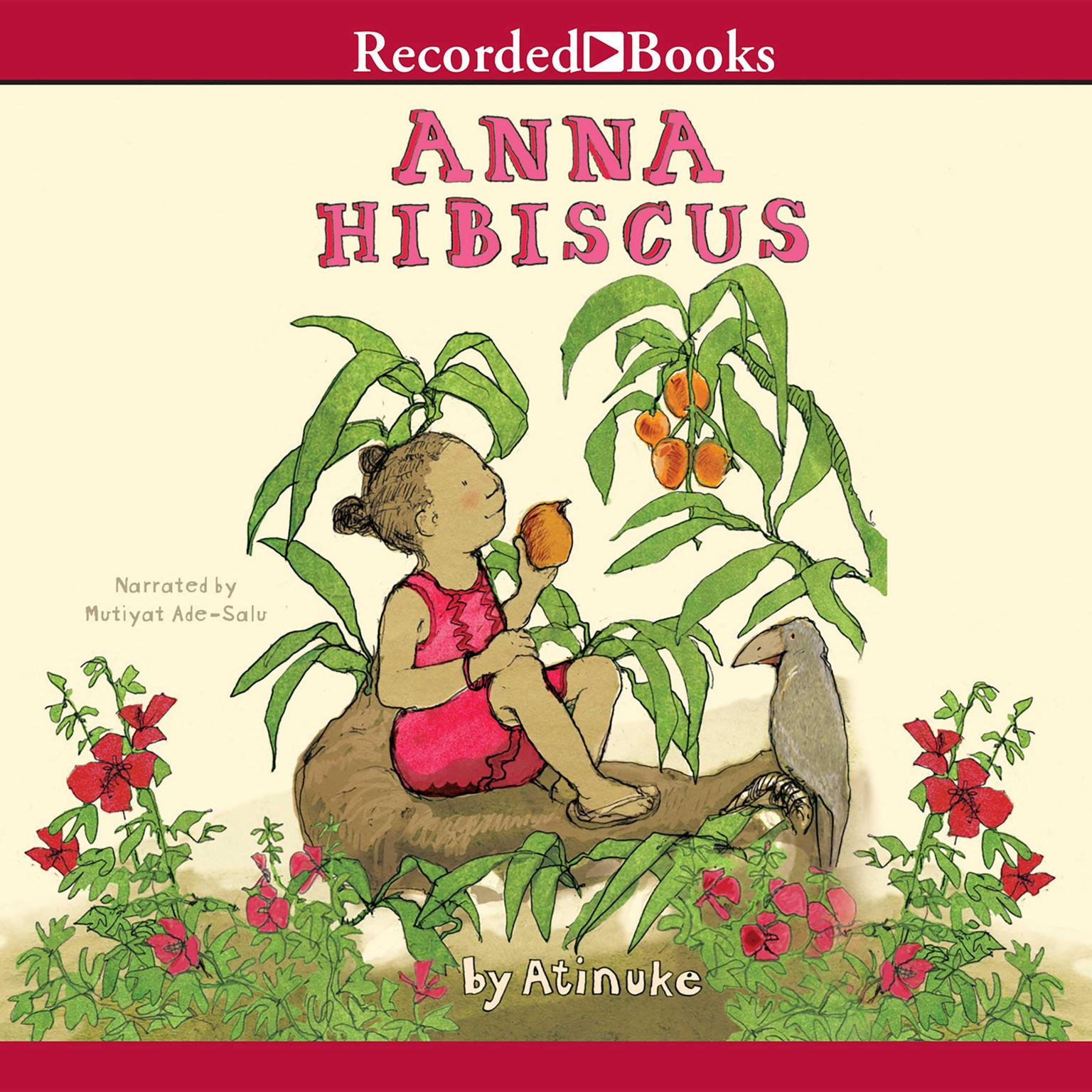 Printable Anna Hibiscus Audiobook Cover Art