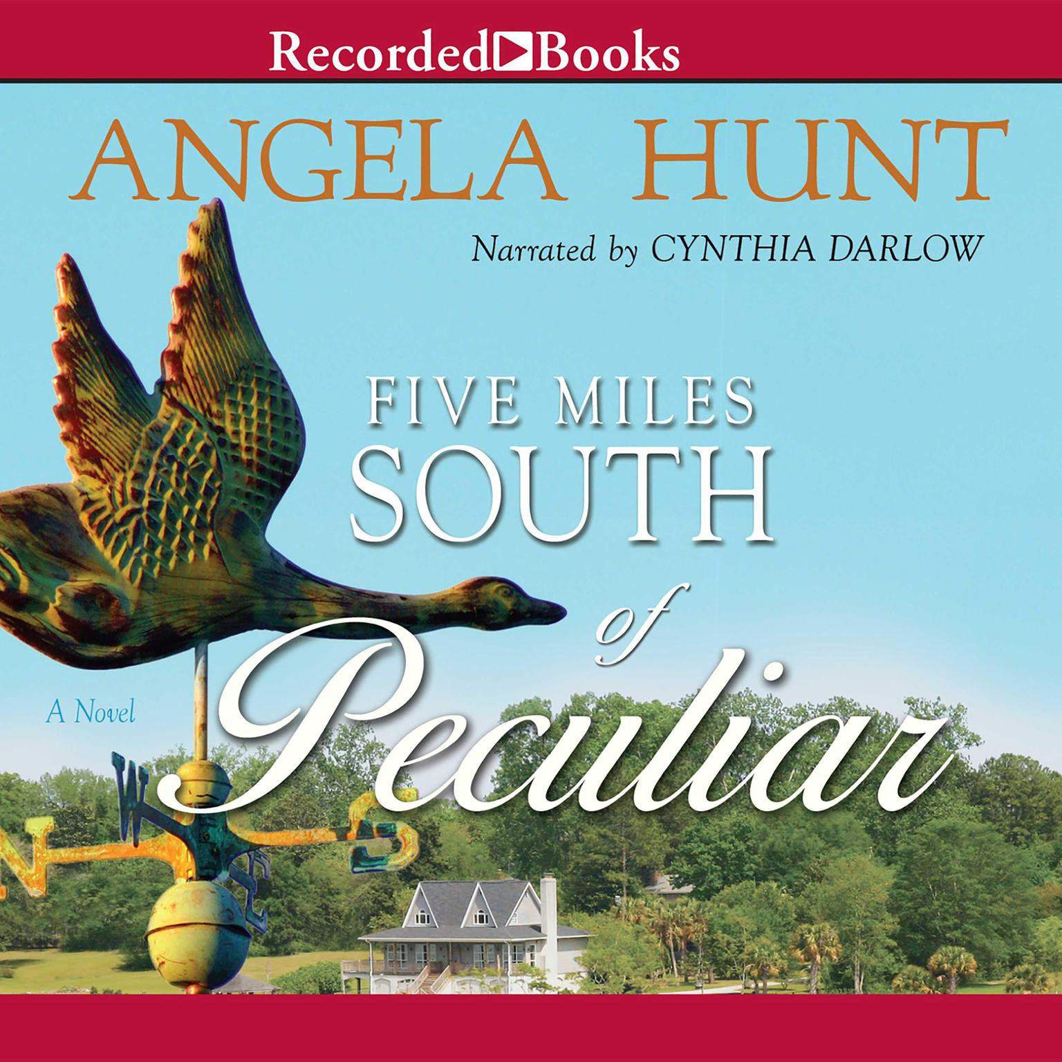 Printable Five Miles South of Peculiar Audiobook Cover Art