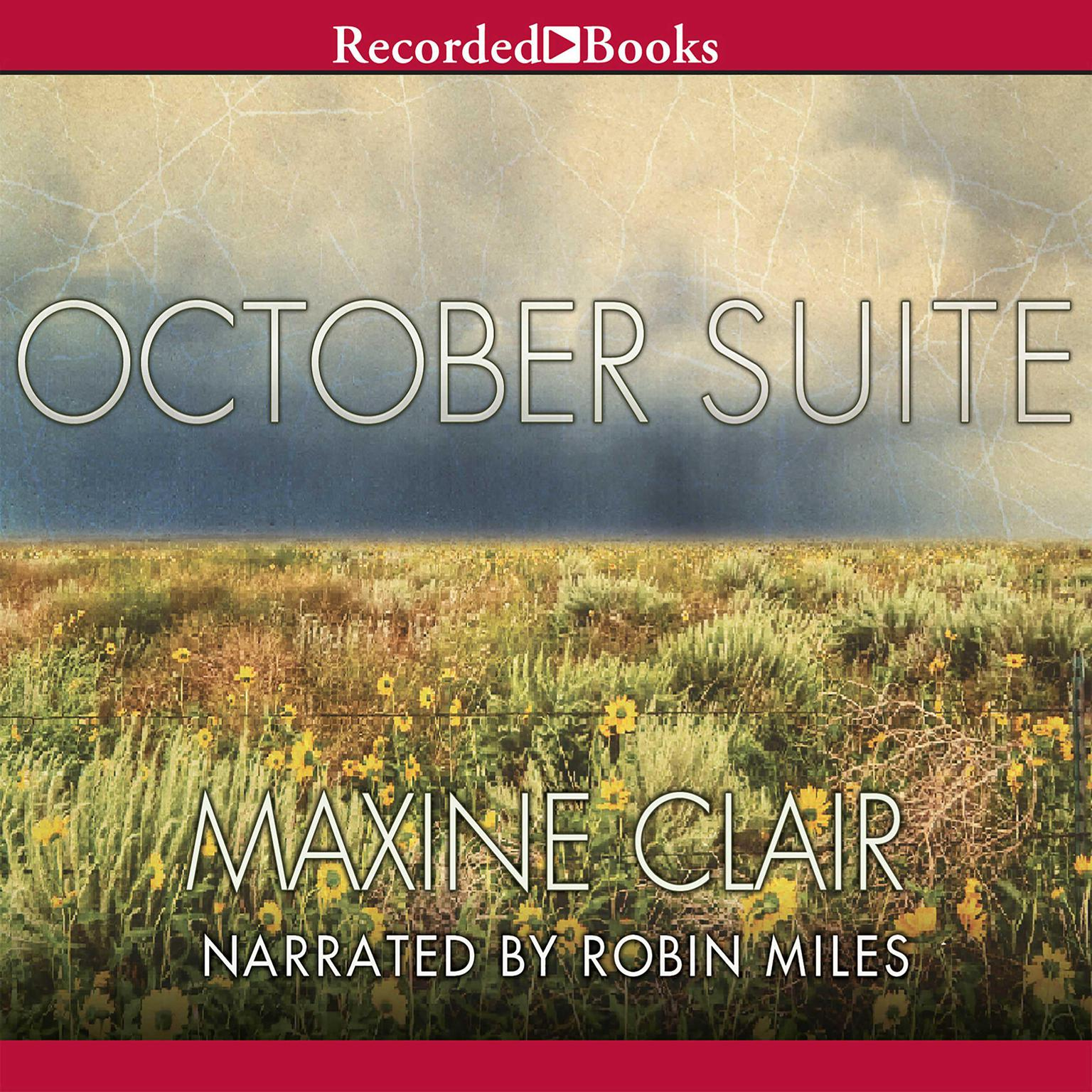 Printable October Suite Audiobook Cover Art