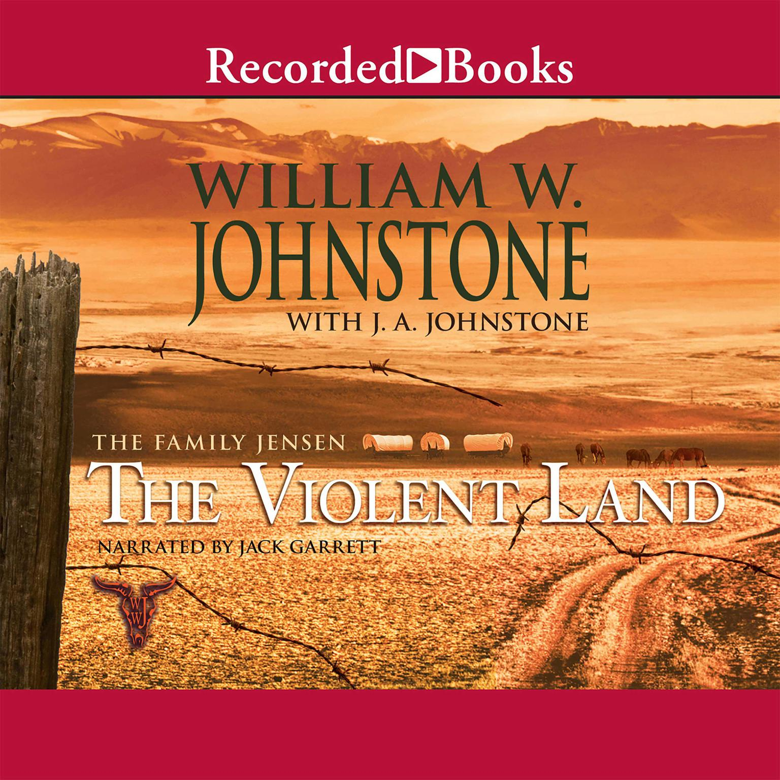 Printable The Violent Land Audiobook Cover Art