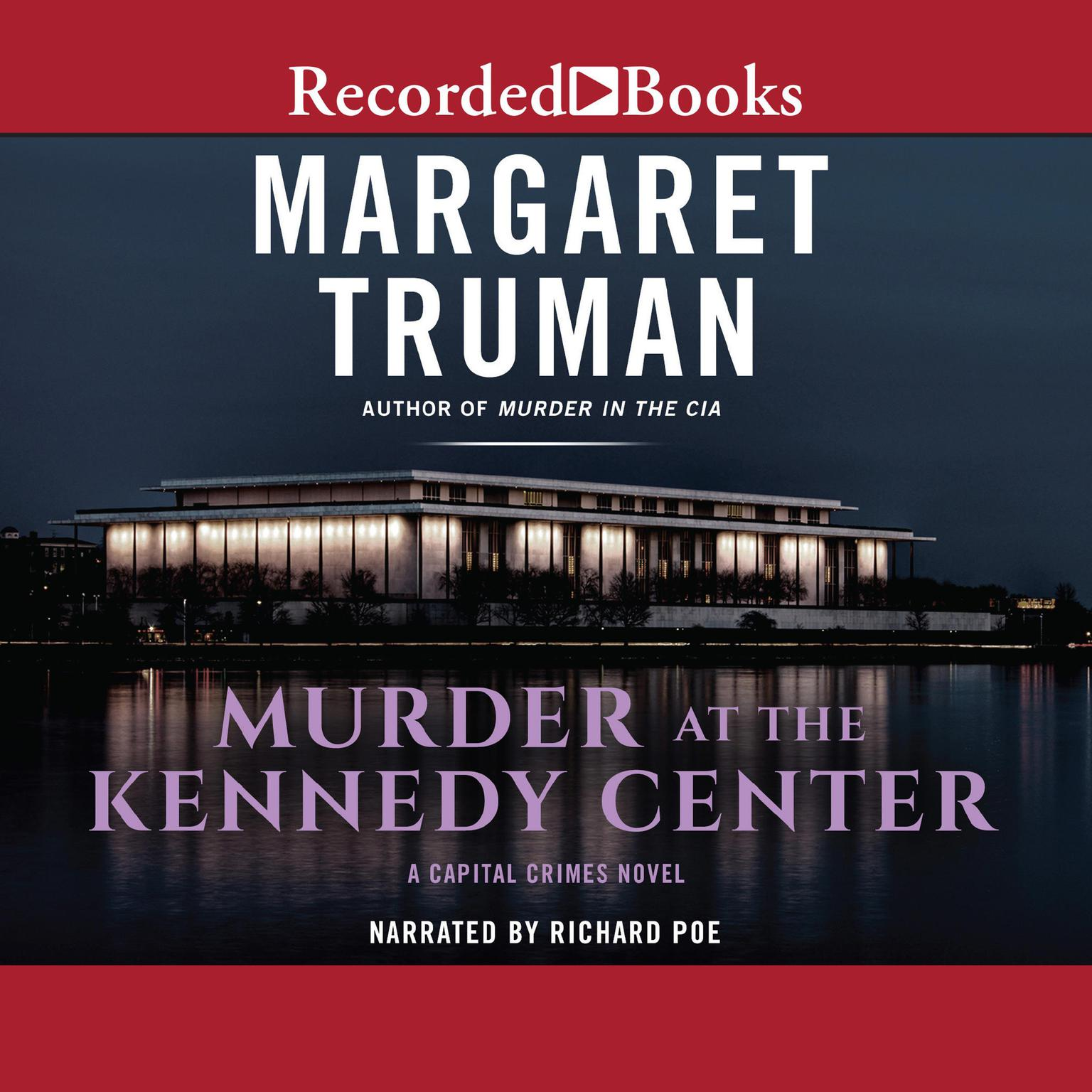 Printable Murder at the Kennedy Center Audiobook Cover Art