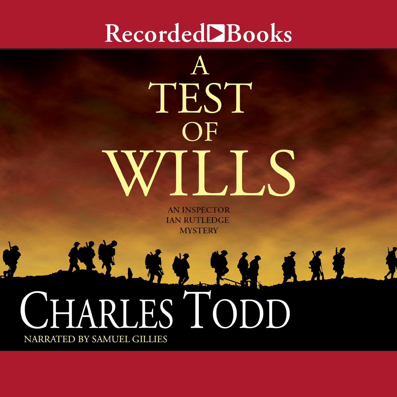 Printable A Test of Wills Audiobook Cover Art