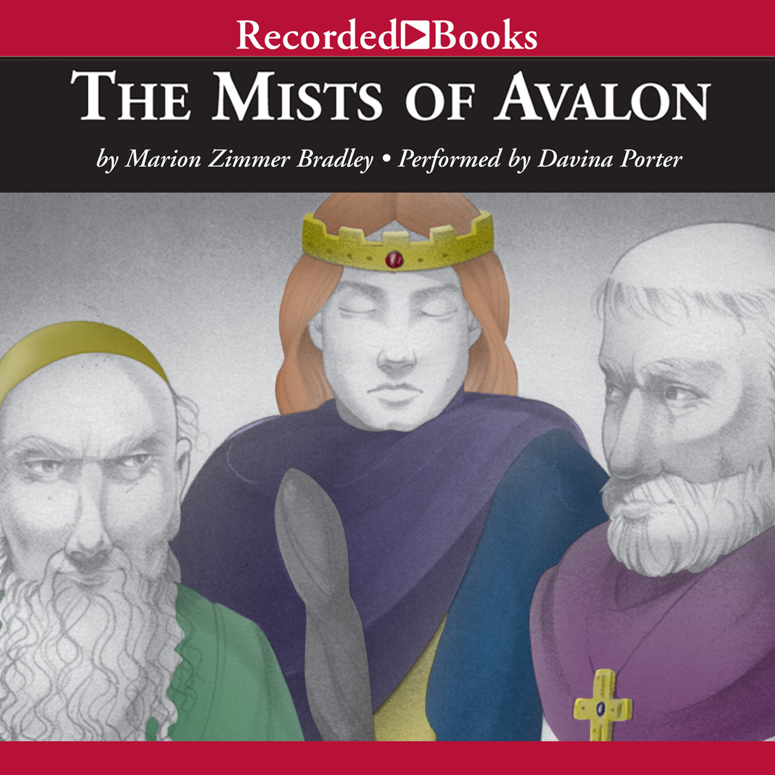 Printable The Mists of Avalon (compilation) Audiobook Cover Art