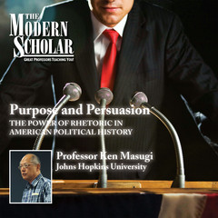 Purpose and Persuasion: The Power of Rhetoric in American Political History Audiobook, by Ken Masugi