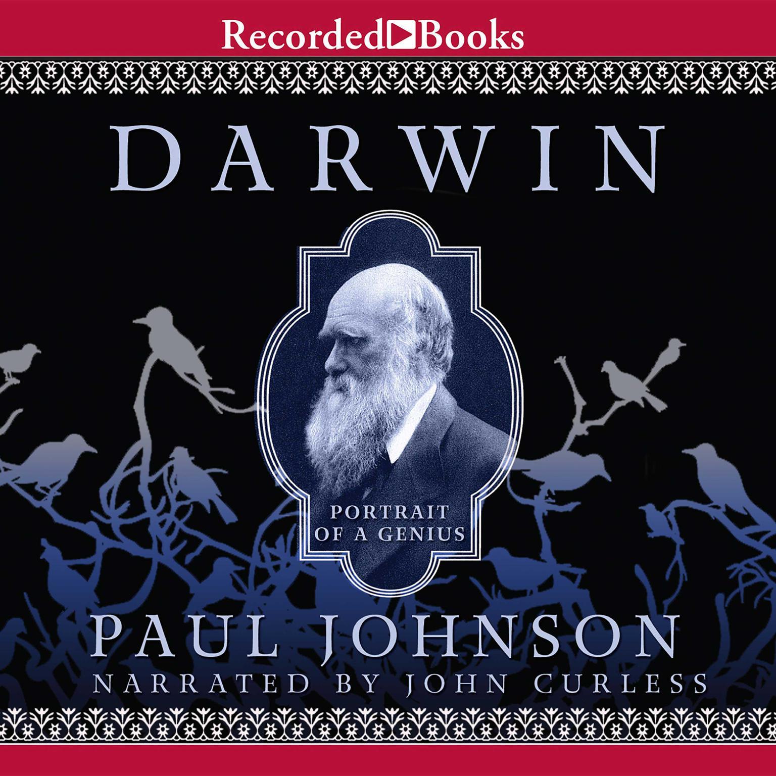 Printable Darwin: Portrait of a Genius Audiobook Cover Art