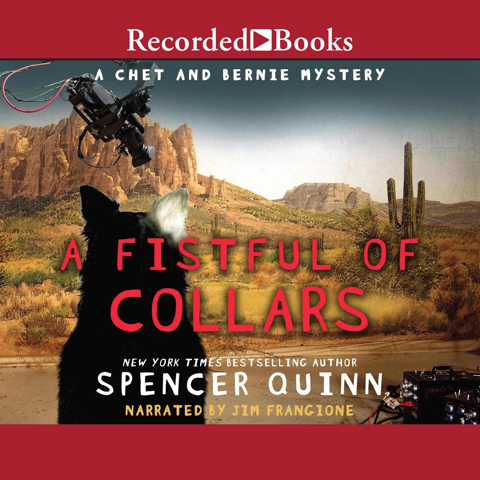 Printable A Fistful of Collars Audiobook Cover Art