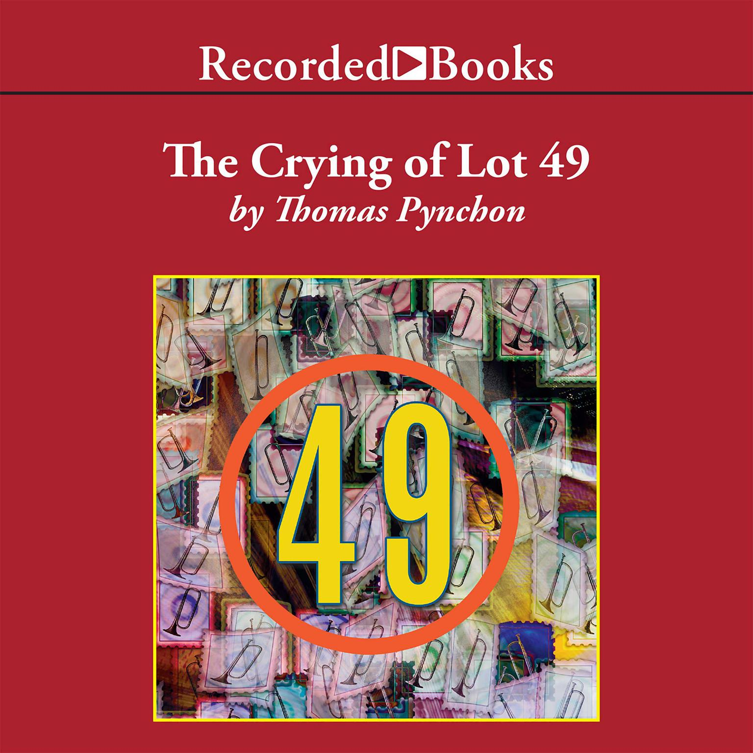 Printable The Crying of Lot 49 Audiobook Cover Art