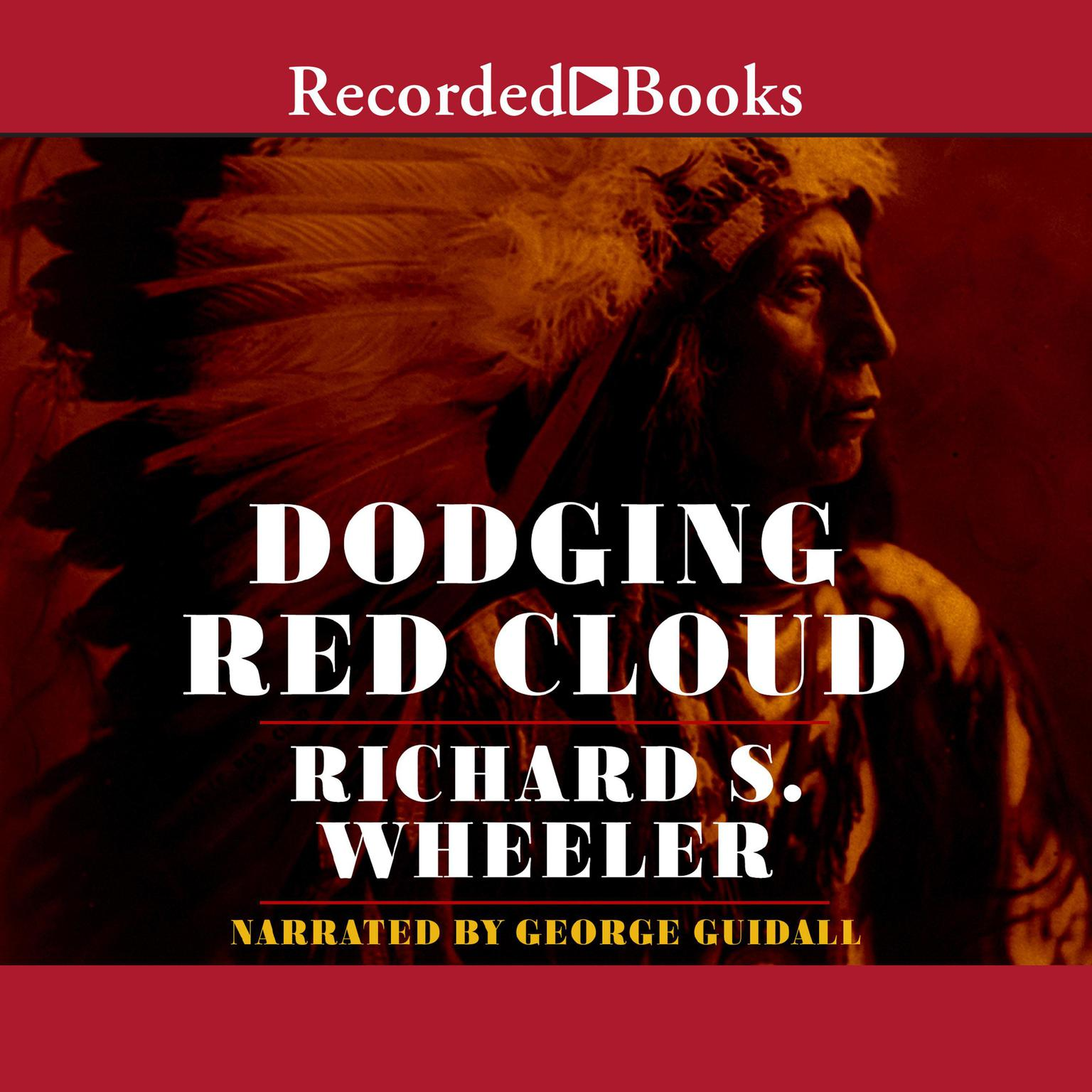 Printable Dodging Red Cloud Audiobook Cover Art