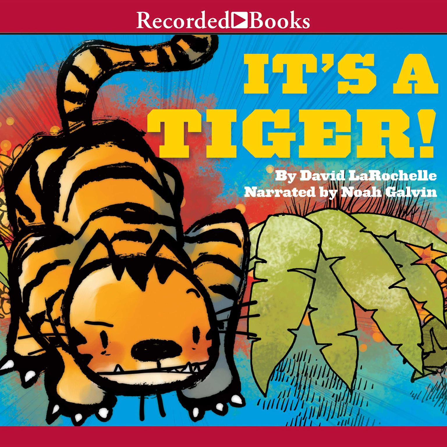 Printable It's a Tiger! Audiobook Cover Art
