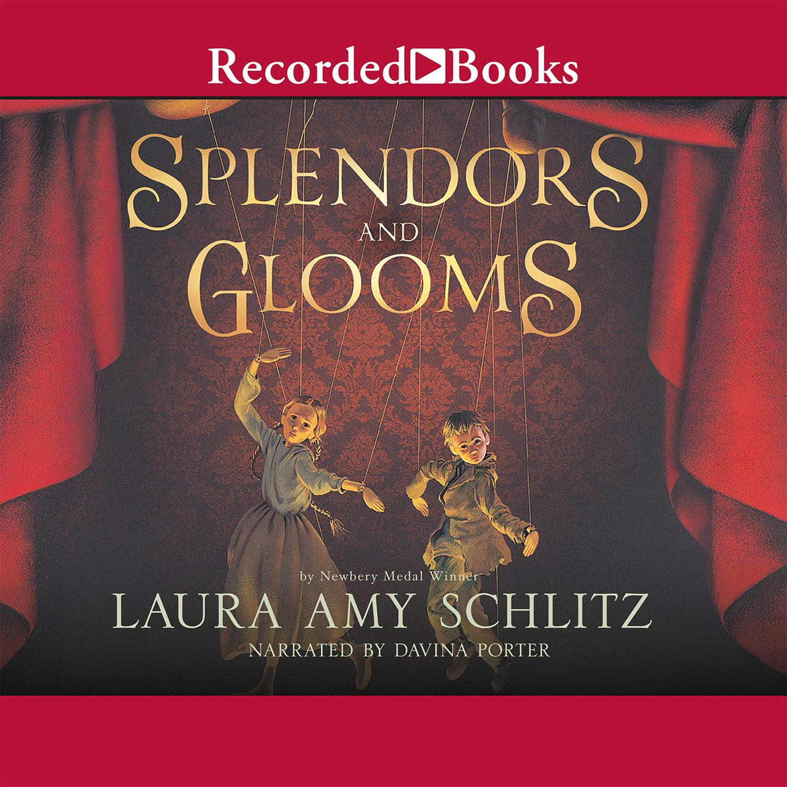Printable Splendors and Glooms Audiobook Cover Art