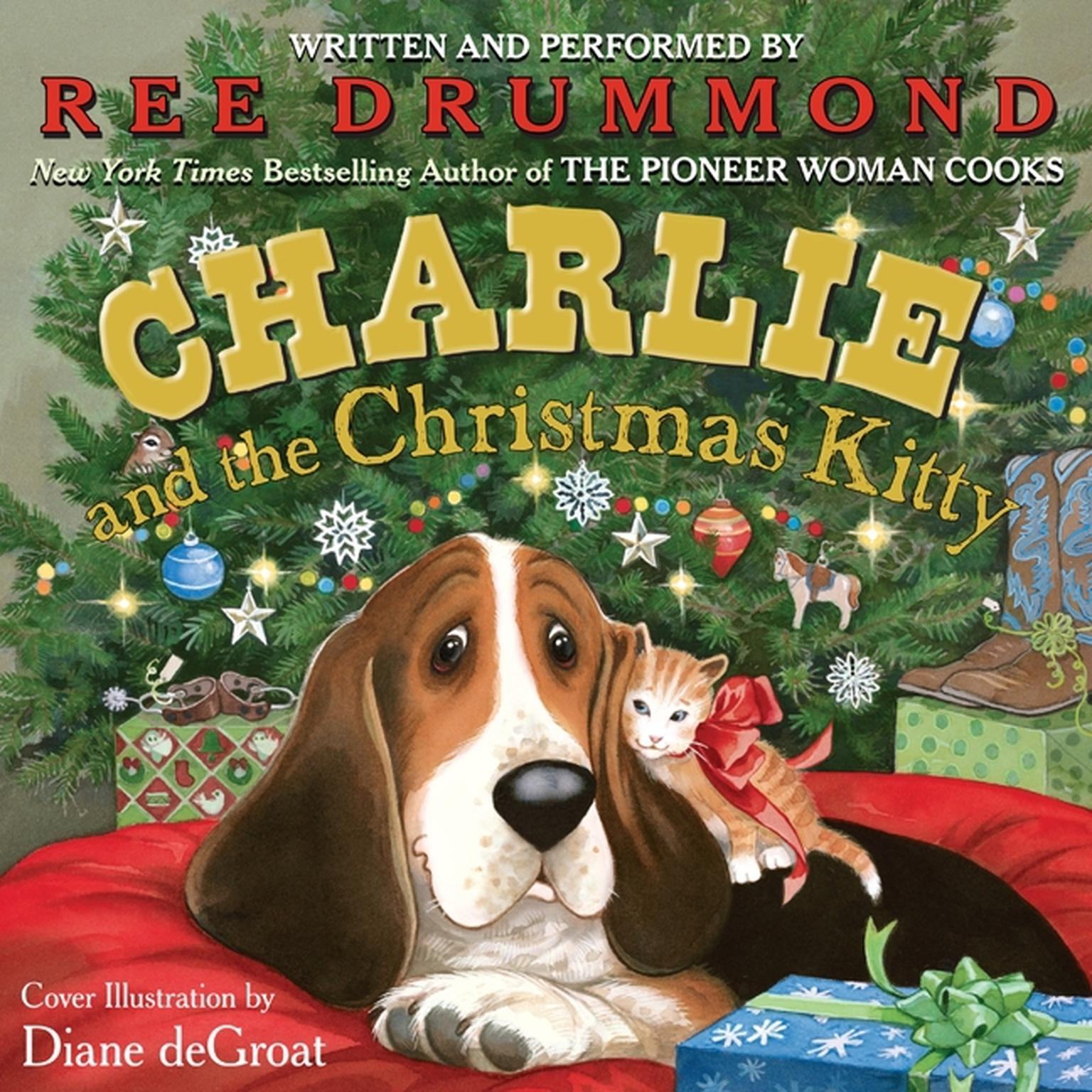 Printable Charlie and the Christmas Kitty Audiobook Cover Art