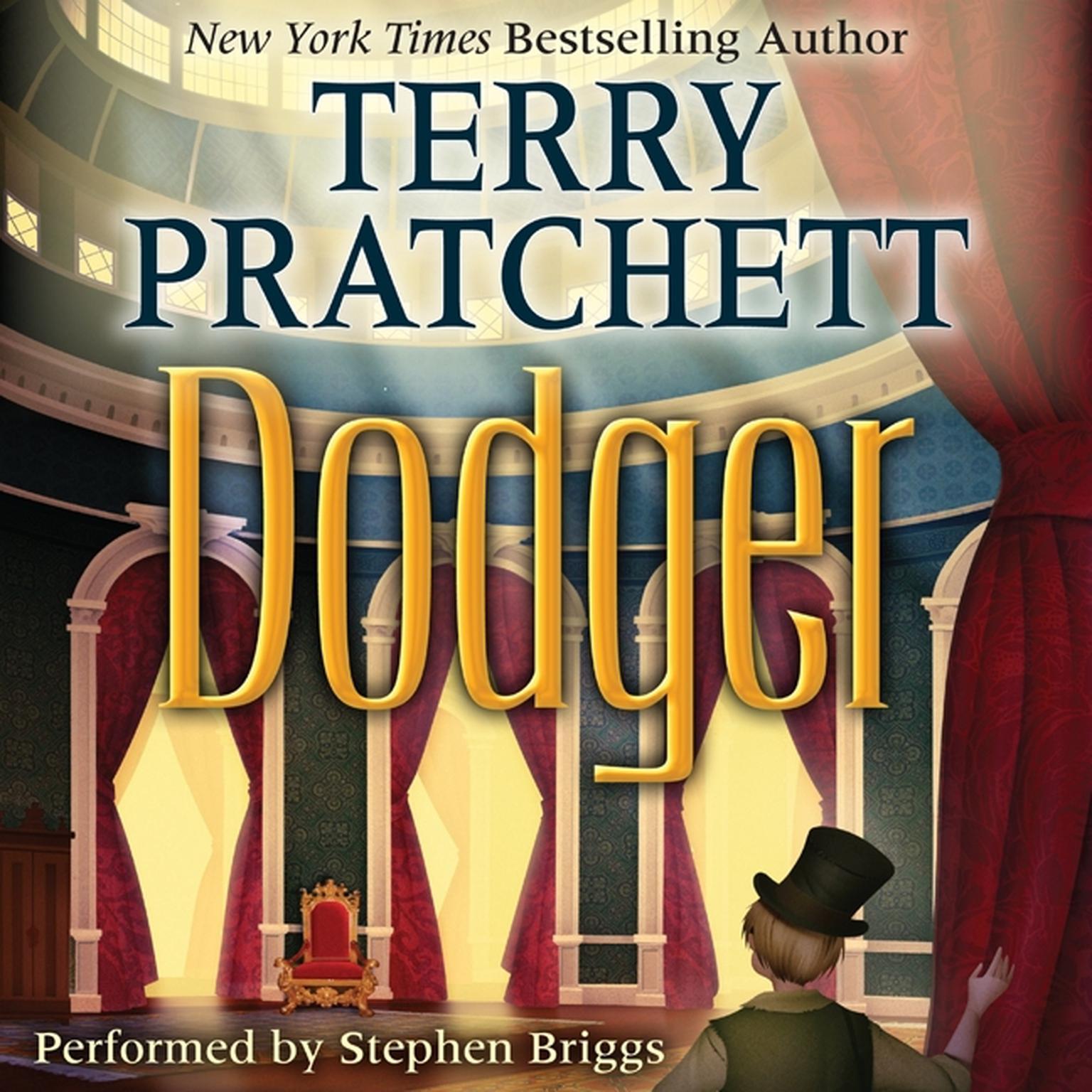 Printable Dodger Audiobook Cover Art