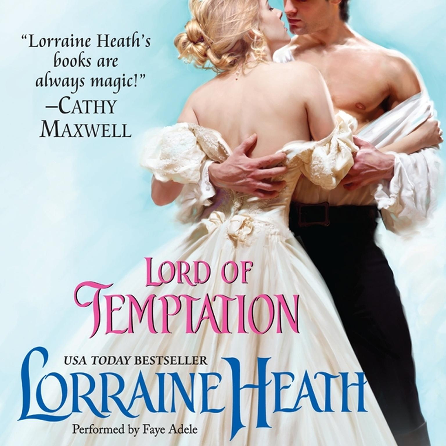 Printable Lord of Temptation Audiobook Cover Art