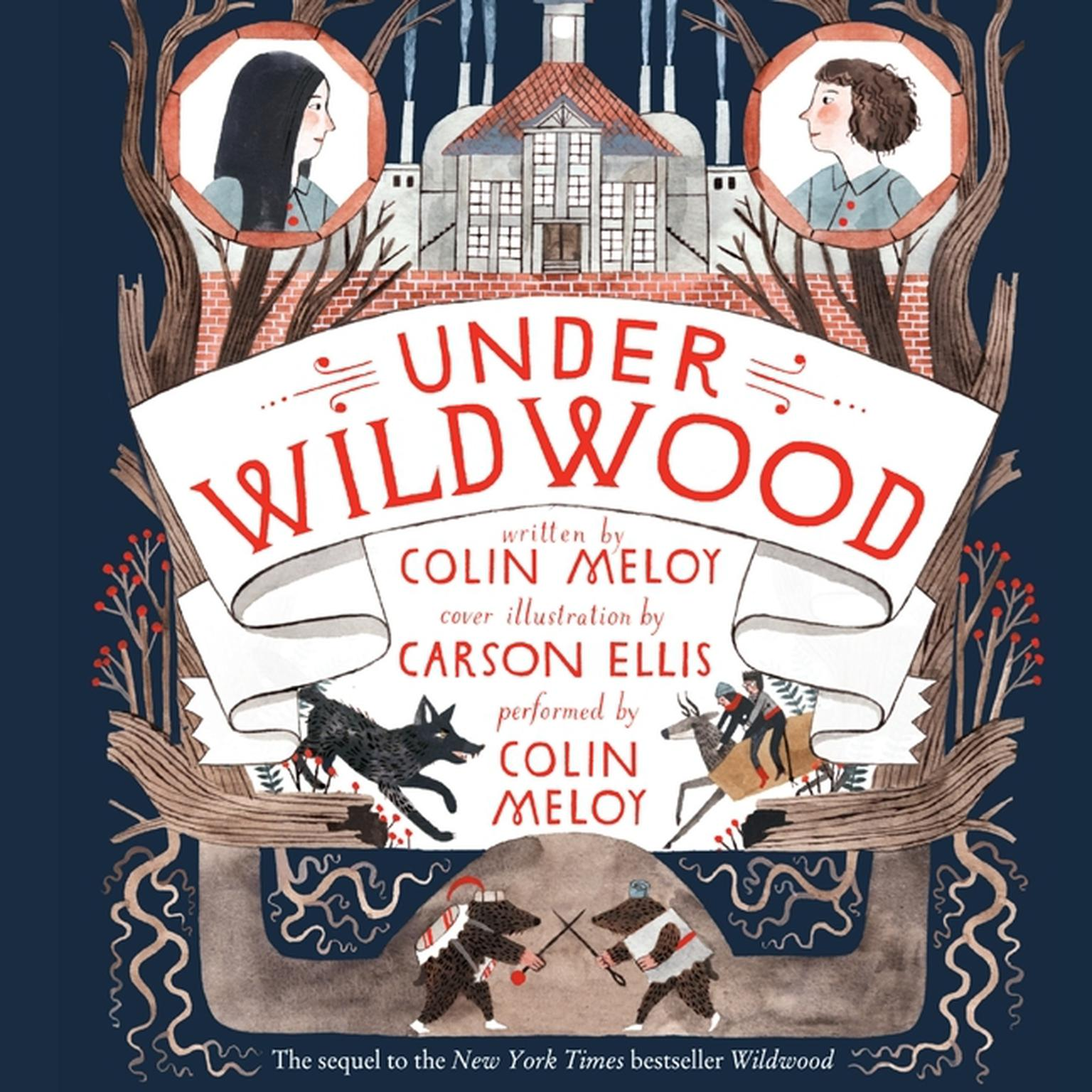 Printable Under Wildwood Audiobook Cover Art