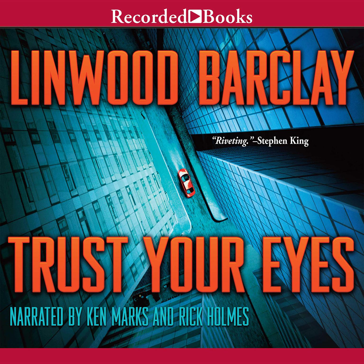 Printable Trust Your Eyes Audiobook Cover Art